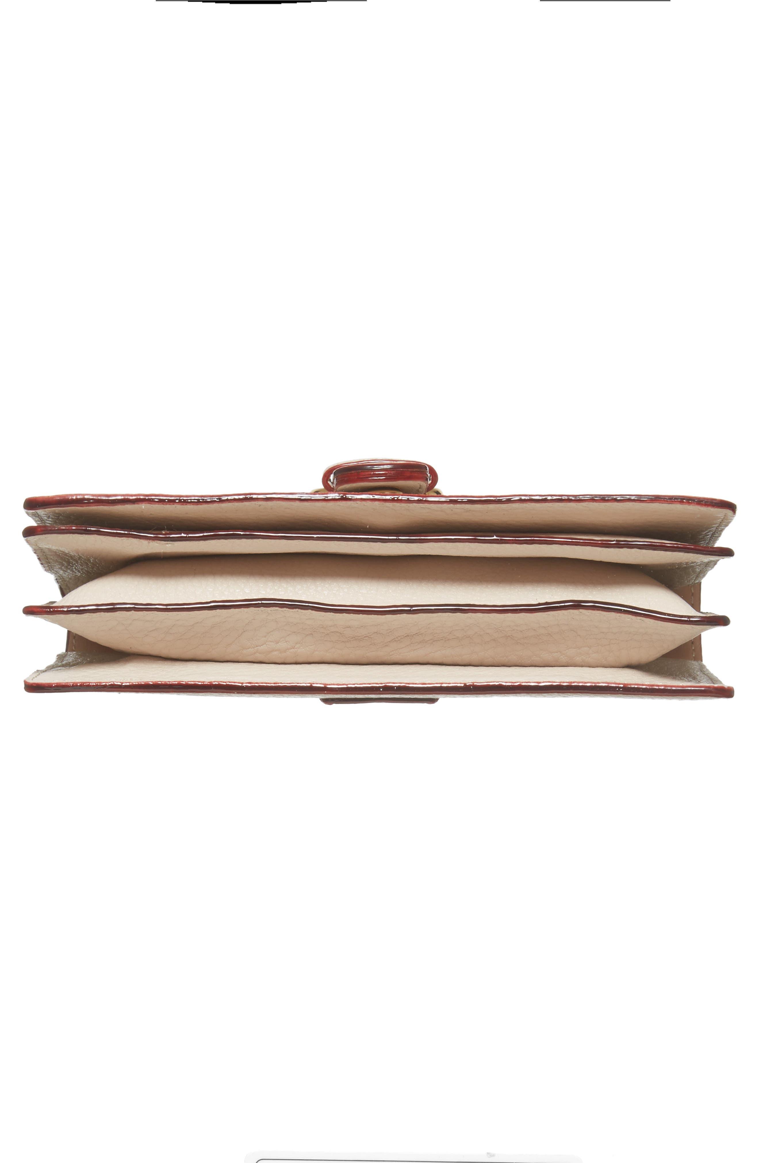 Calfskin Leather Crossbody Wallet,                             Alternate thumbnail 22, color,