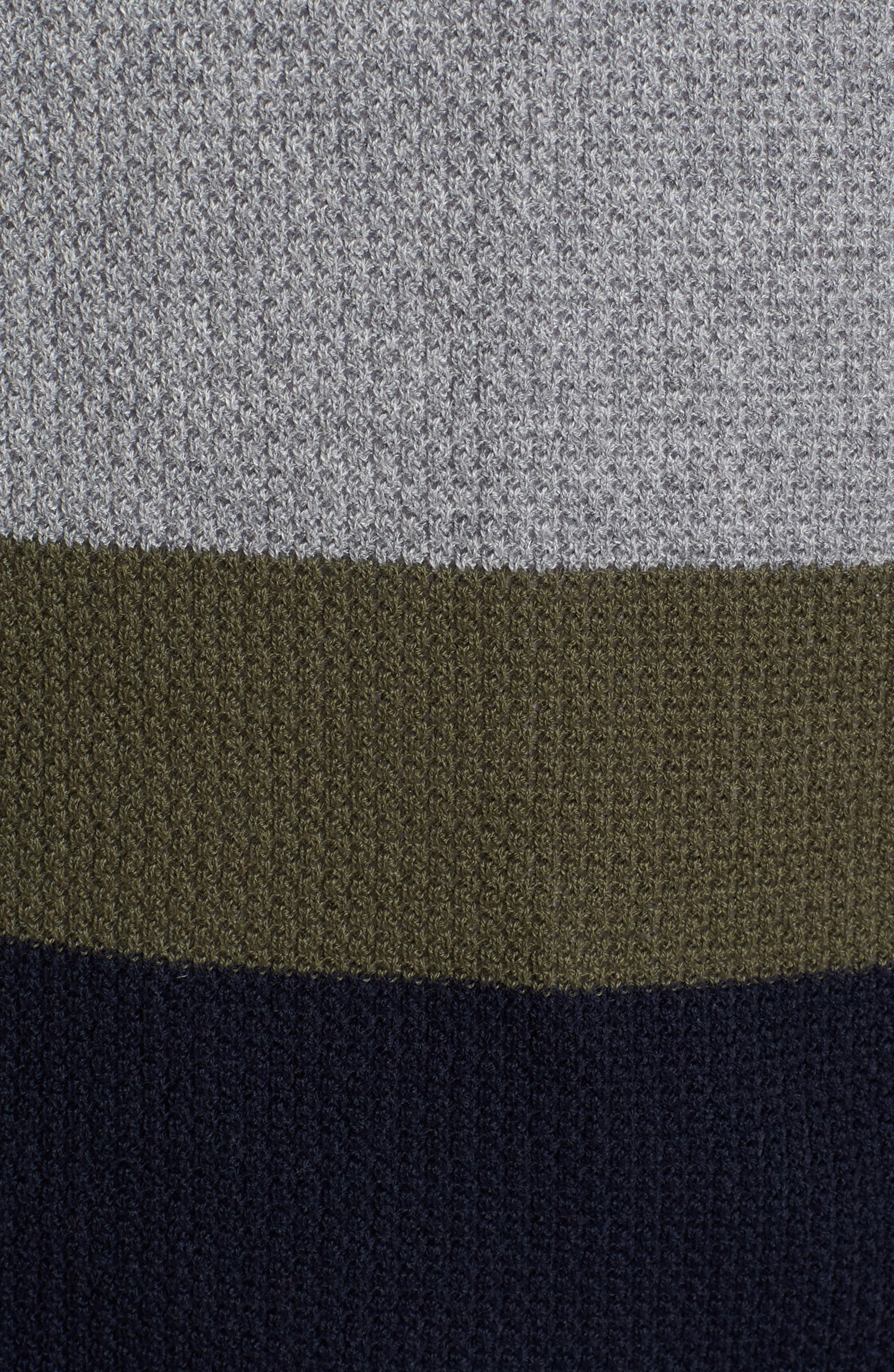 Textured Colorblock Sweater,                             Alternate thumbnail 5, color,                             036