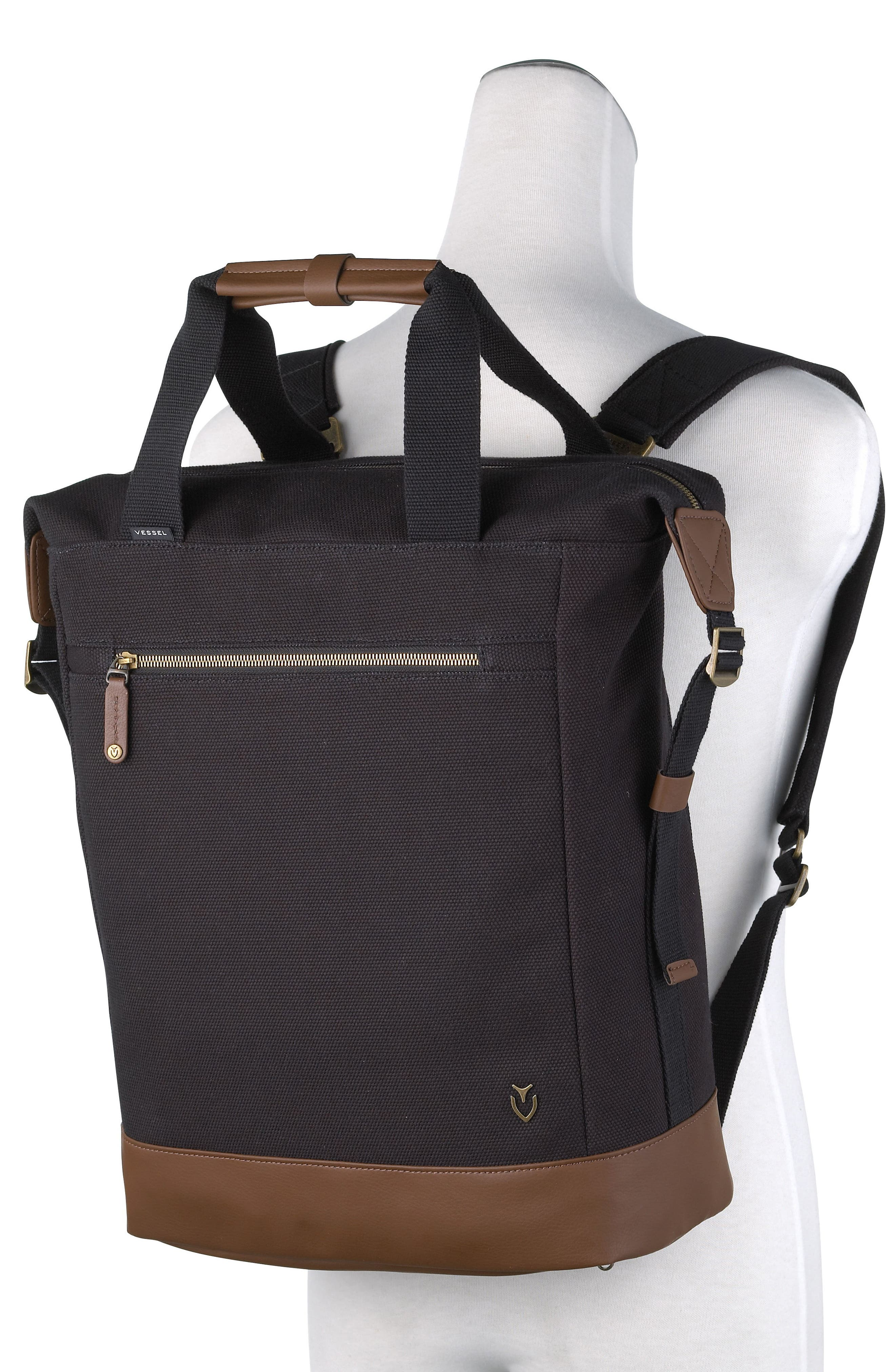 Refined Tote Backpack,                             Alternate thumbnail 2, color,                             001
