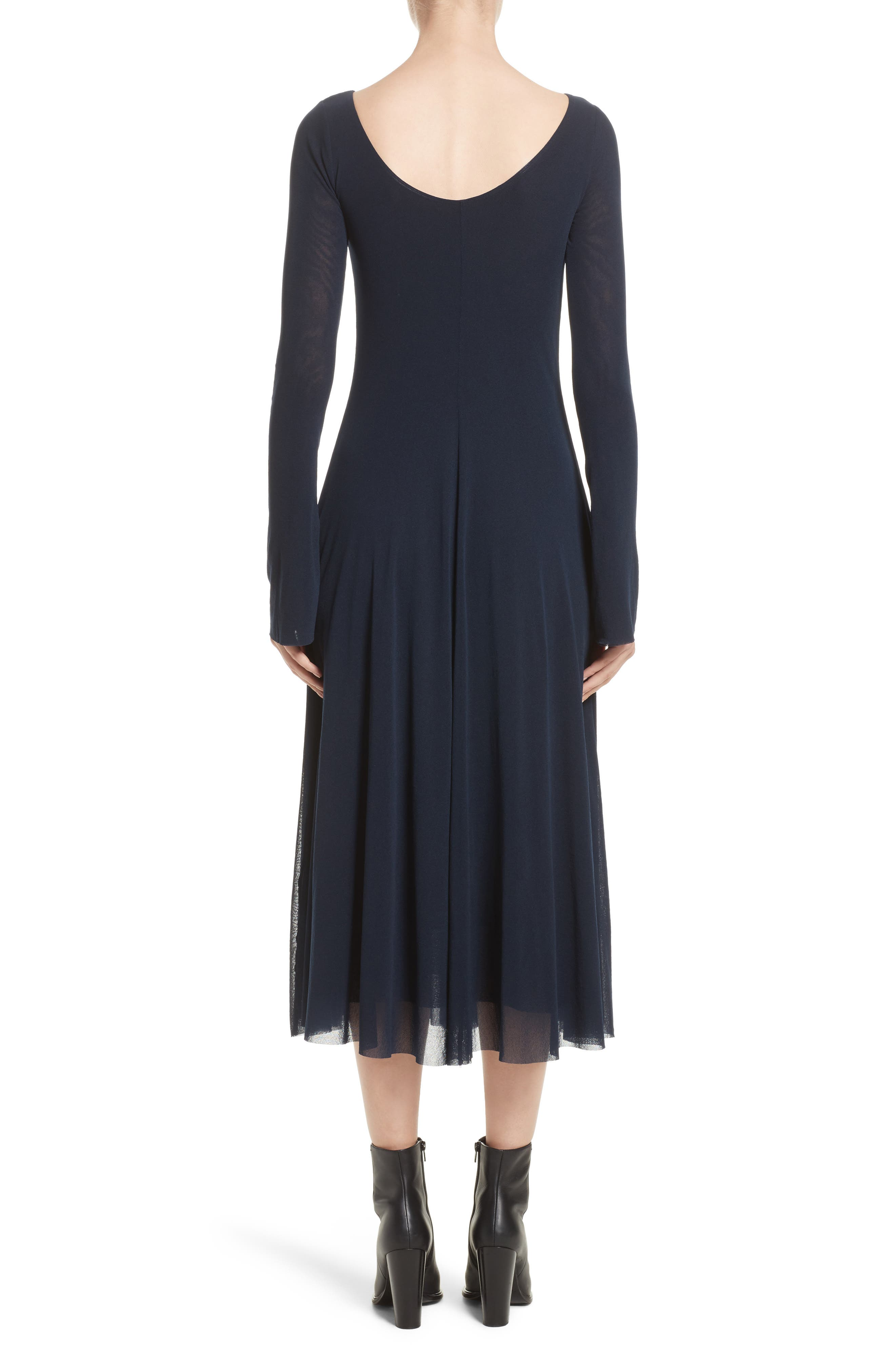 Reversible Tulle Dress,                             Alternate thumbnail 2, color,                             001