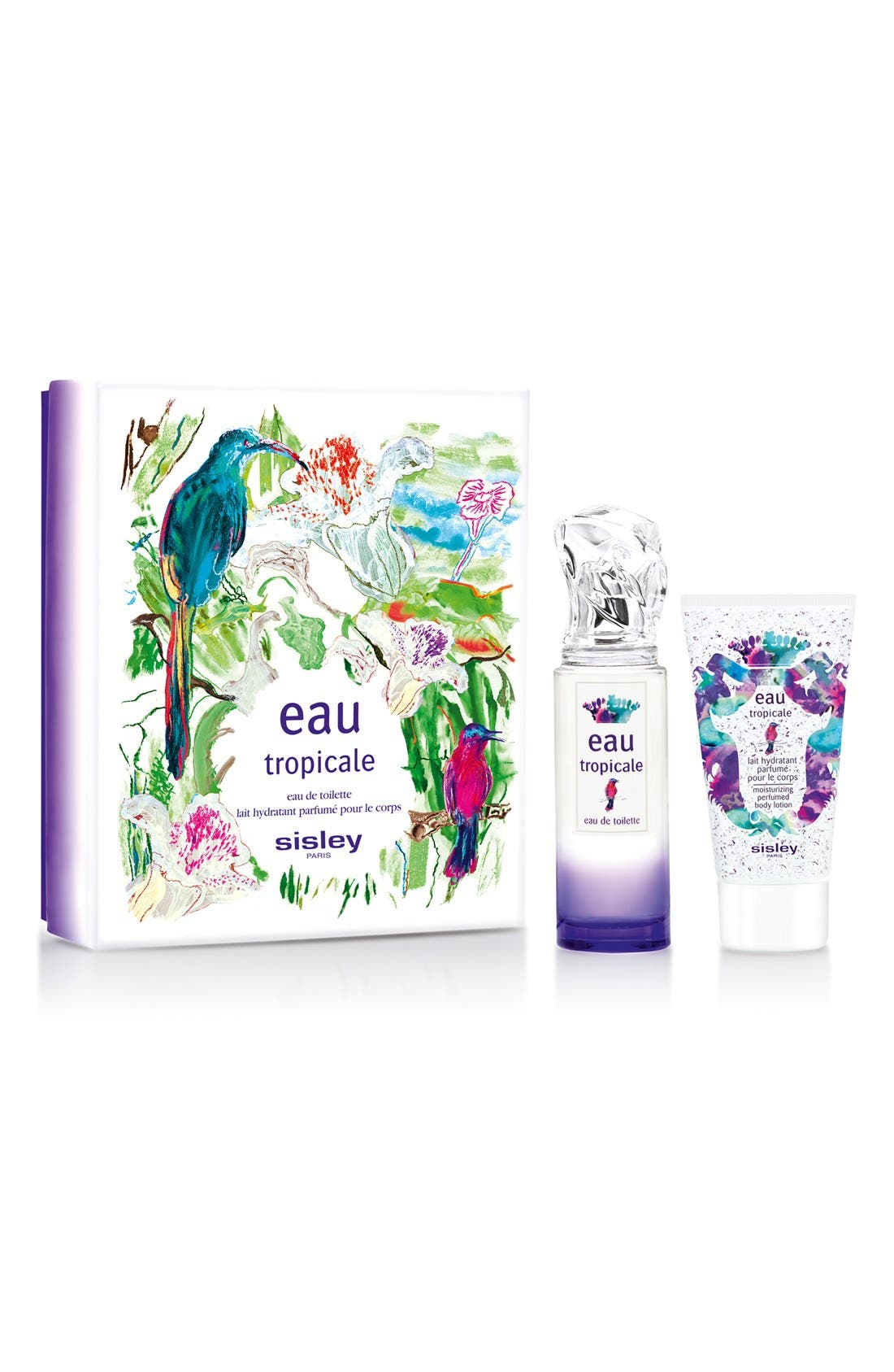 Eau Tropicale Moisturizing Perfumed Body Lotion,                             Alternate thumbnail 2, color,                             NO COLOR
