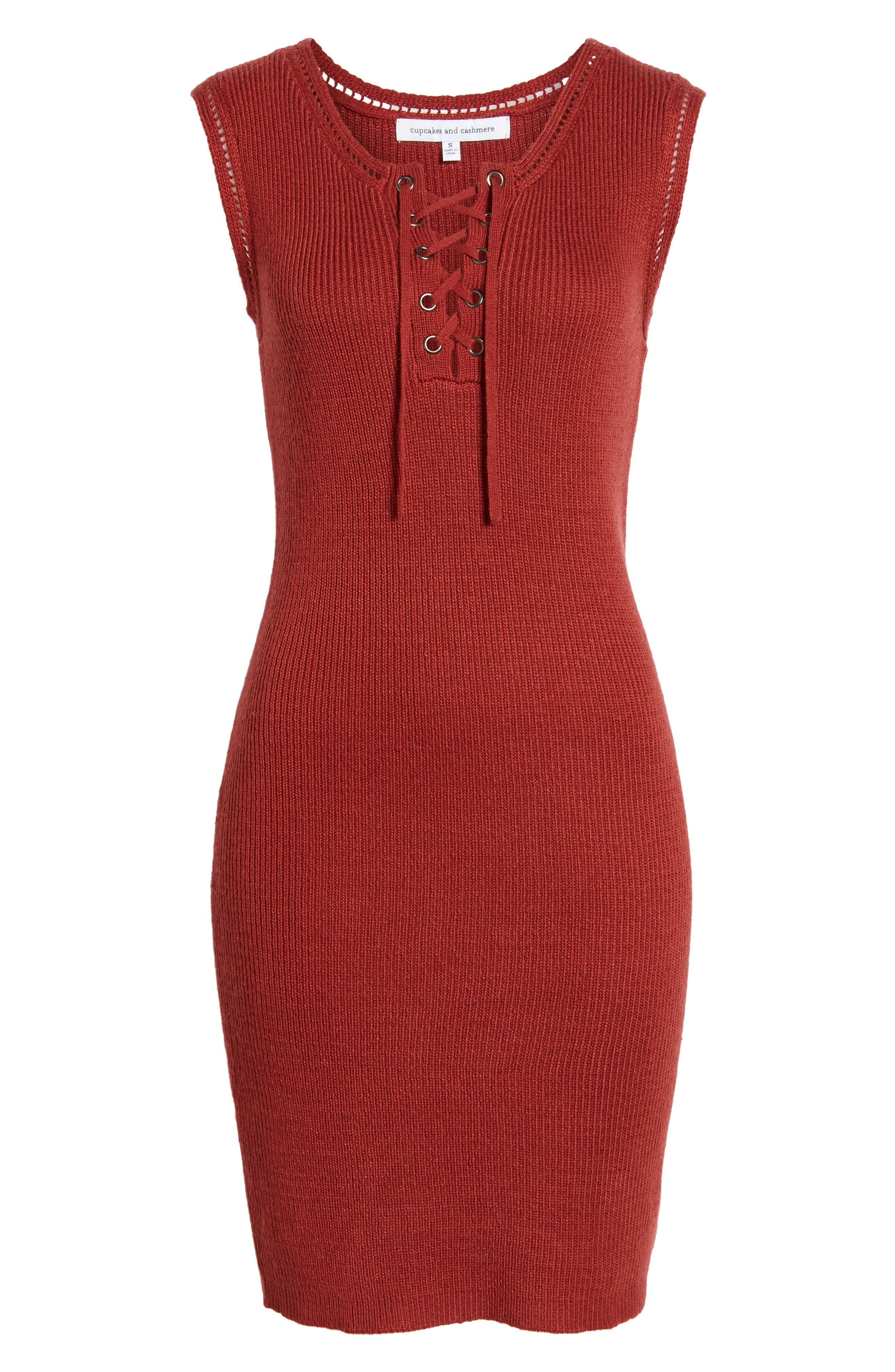Thora Sheath Dress,                             Alternate thumbnail 6, color,                             605