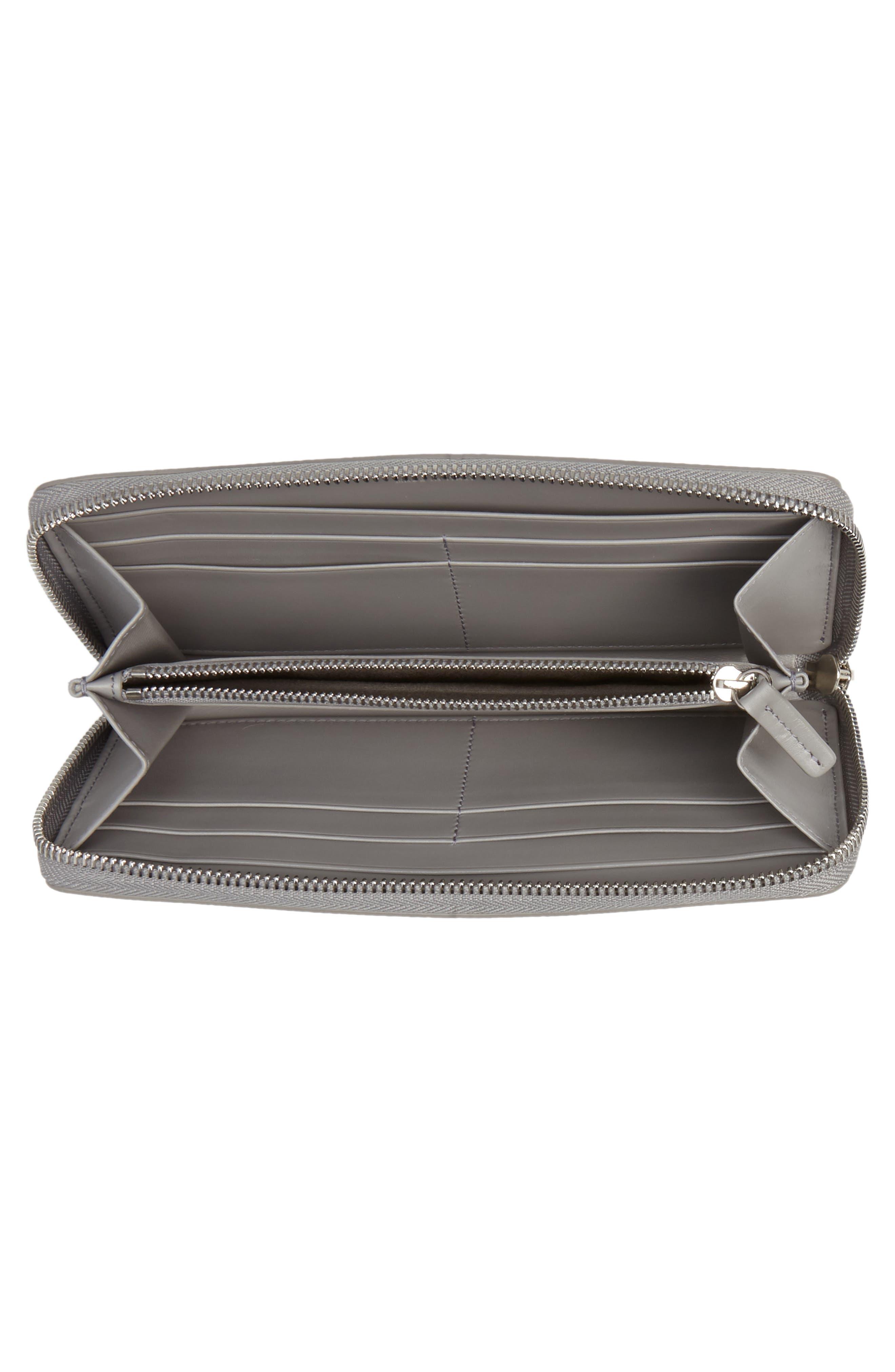 Large Panama Zip Around Wallet,                             Alternate thumbnail 4, color,                             020