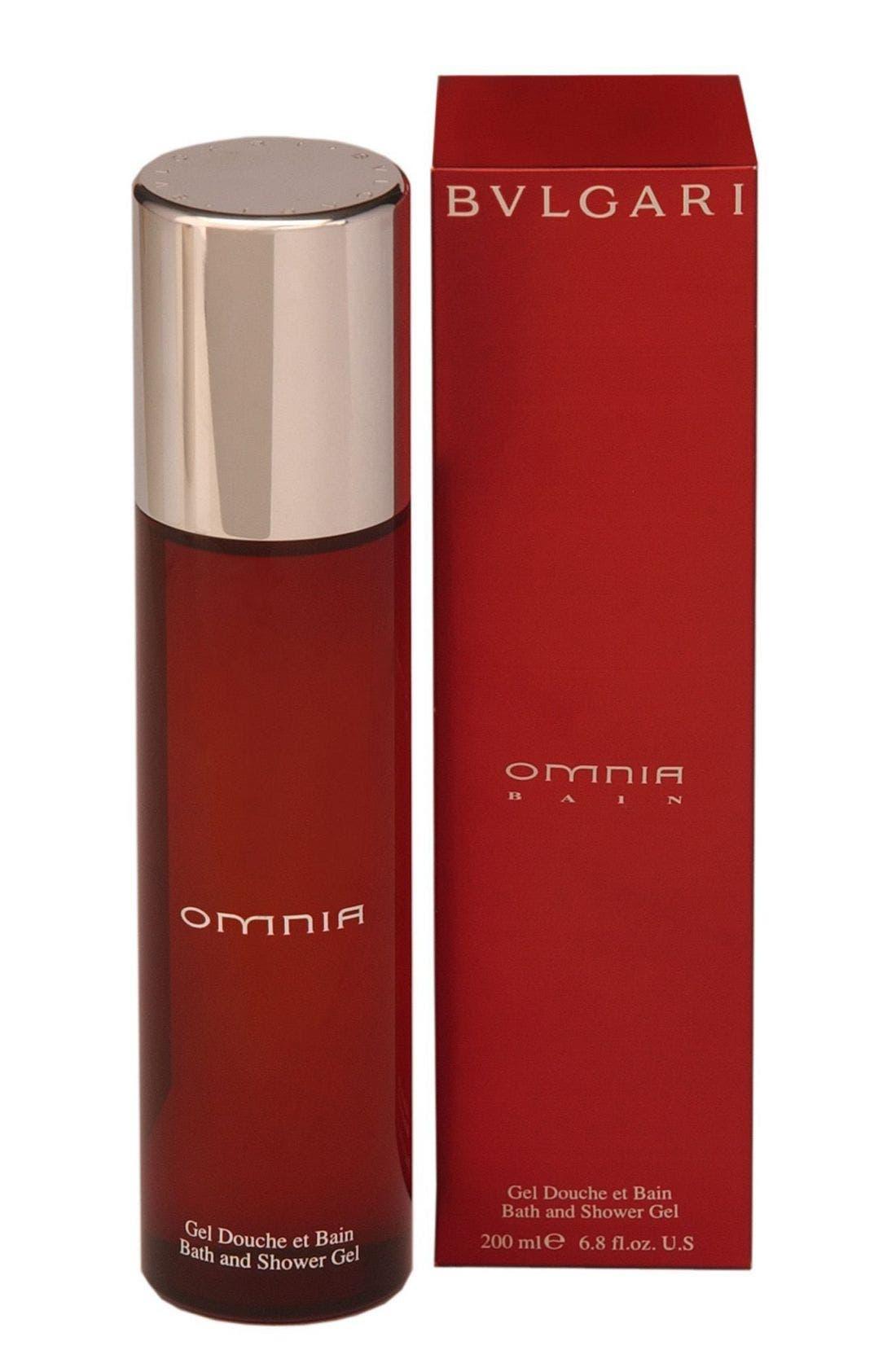 BVLGARI,                             'Omnia' Shower Gel,                             Main thumbnail 1, color,                             000