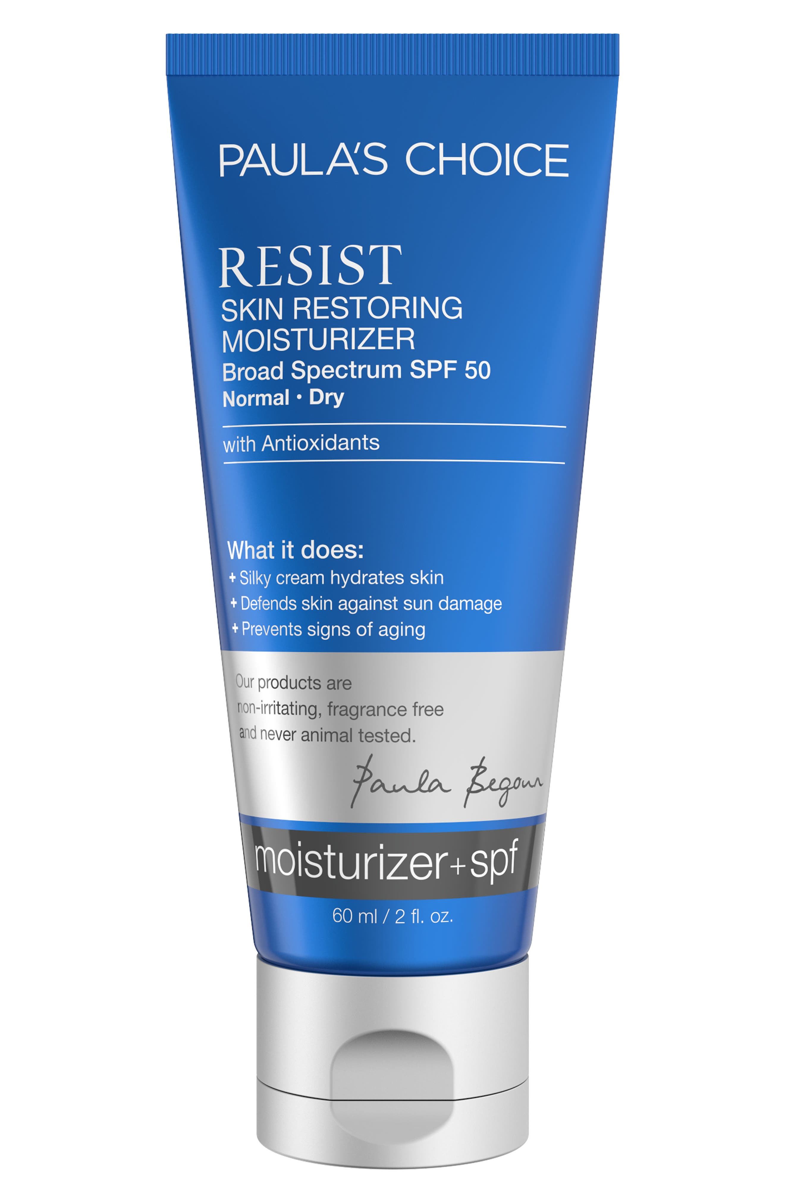 Resist Skin Restoring Moisturizing SPF 50,                             Main thumbnail 1, color,                             NO COLOR