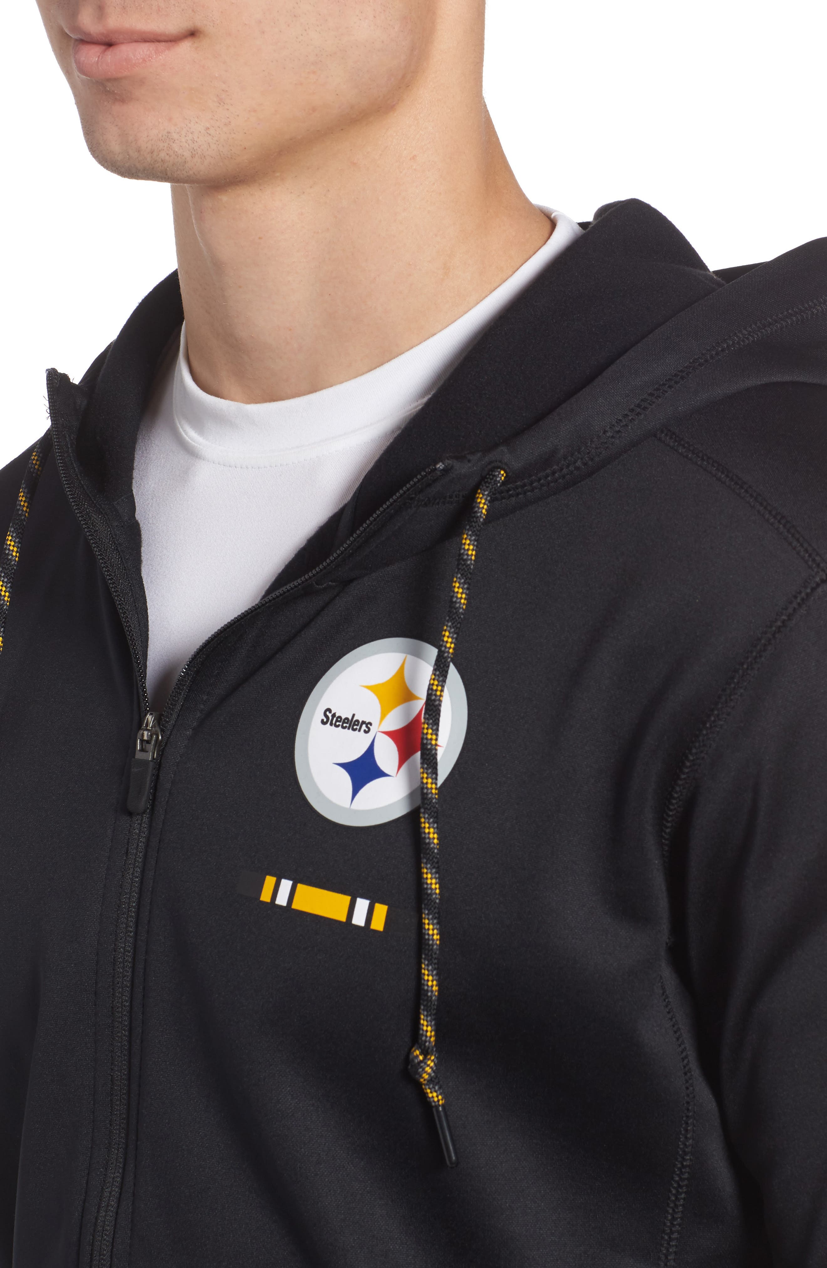 Therma-FIT NFL Graphic Zip Hoodie,                             Alternate thumbnail 23, color,