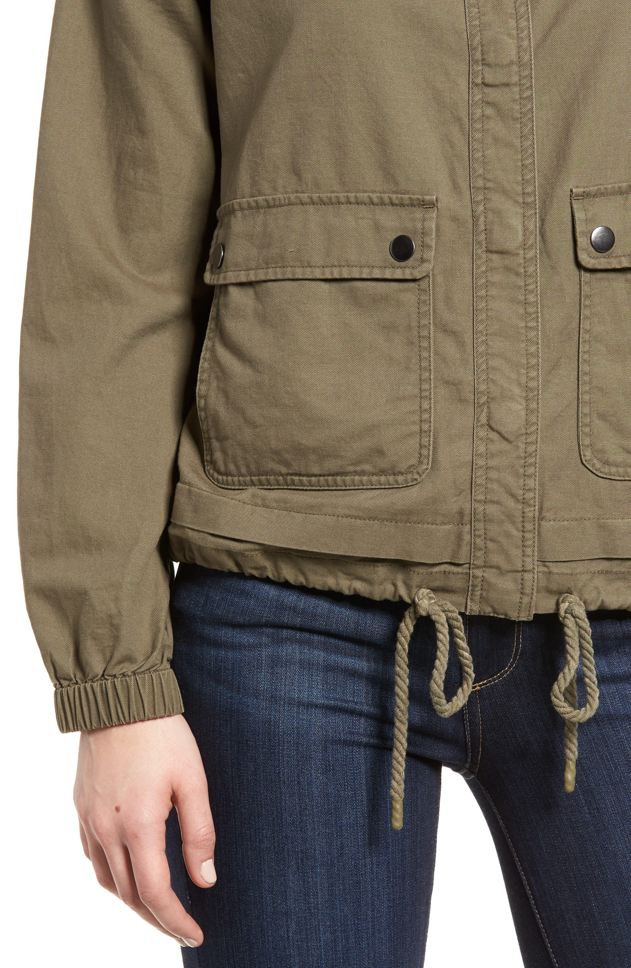 Snap Pocket Utility Jacket,                             Alternate thumbnail 9, color,