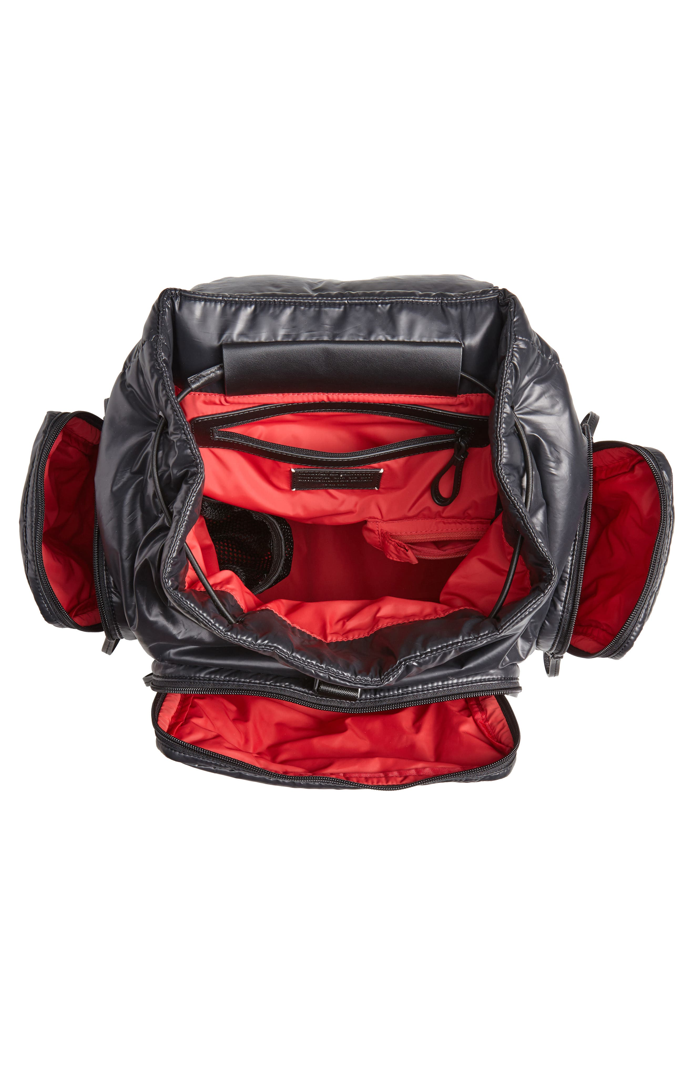 Cirrus Backpack,                             Alternate thumbnail 4, color,                             BLACK