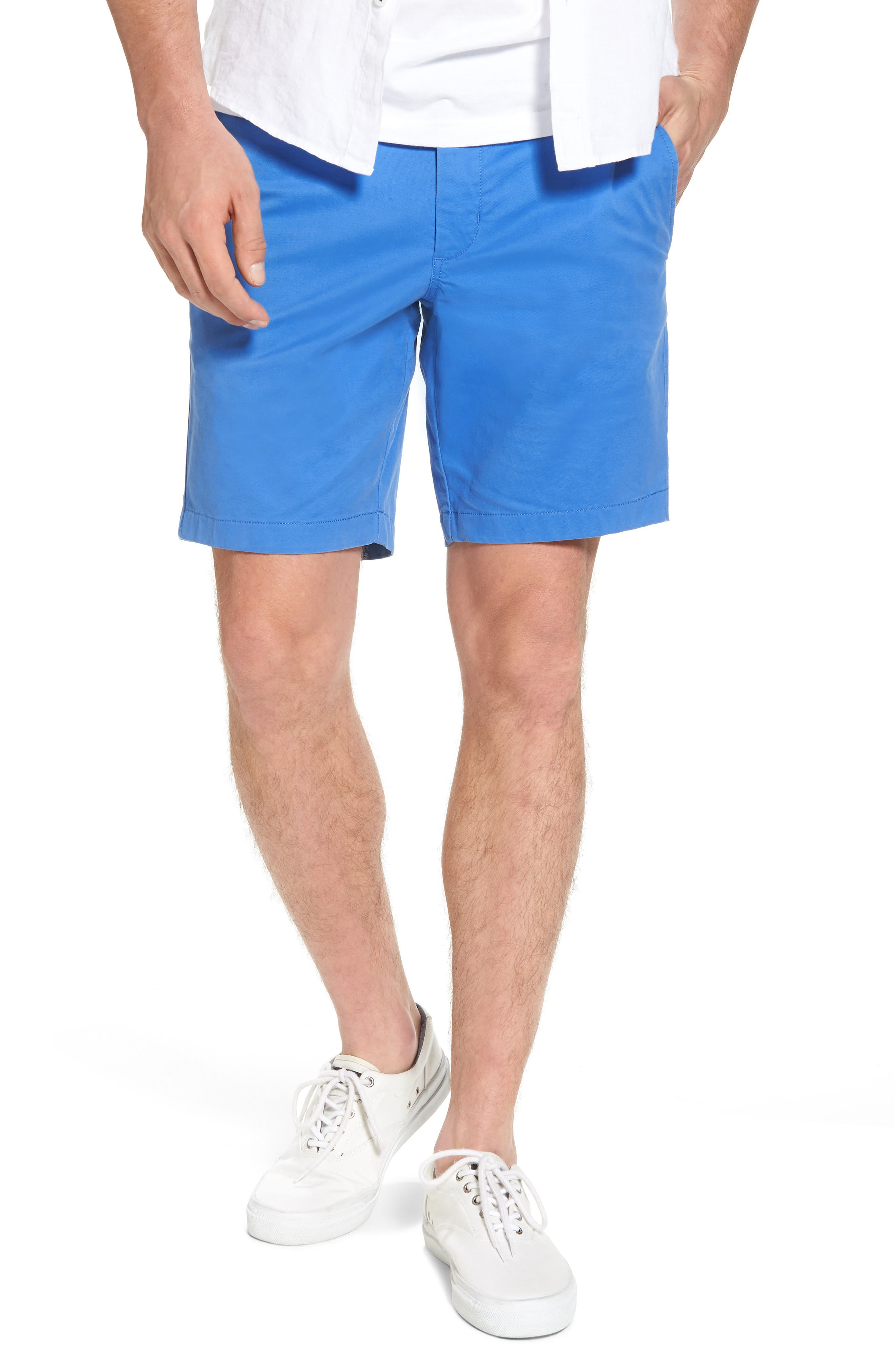 Ballard Slim Fit Stretch Chino 9-Inch Shorts,                             Main thumbnail 9, color,