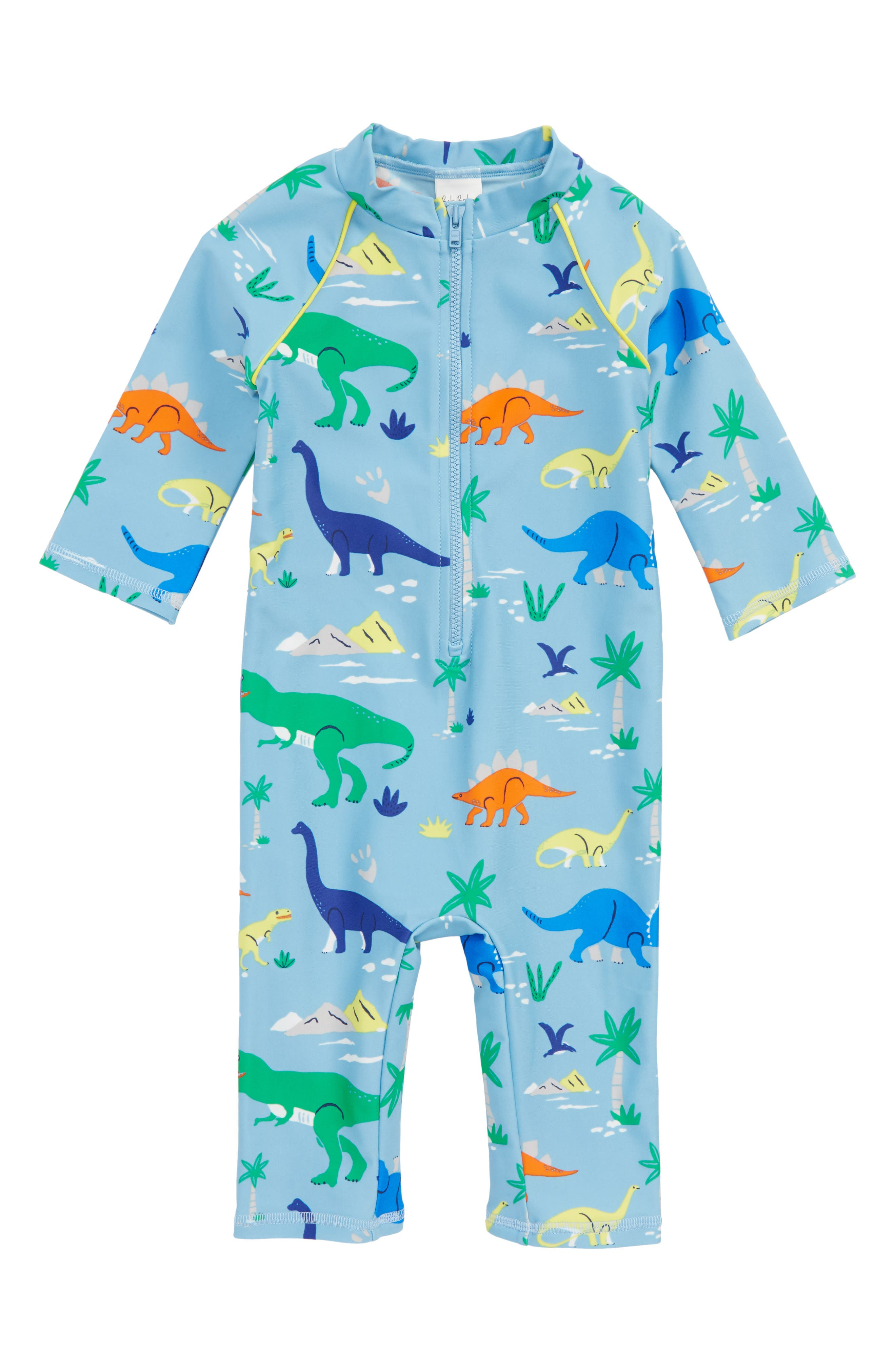 Animal Surf One-Piece Rashguard Swimsuit,                         Main,                         color, 486