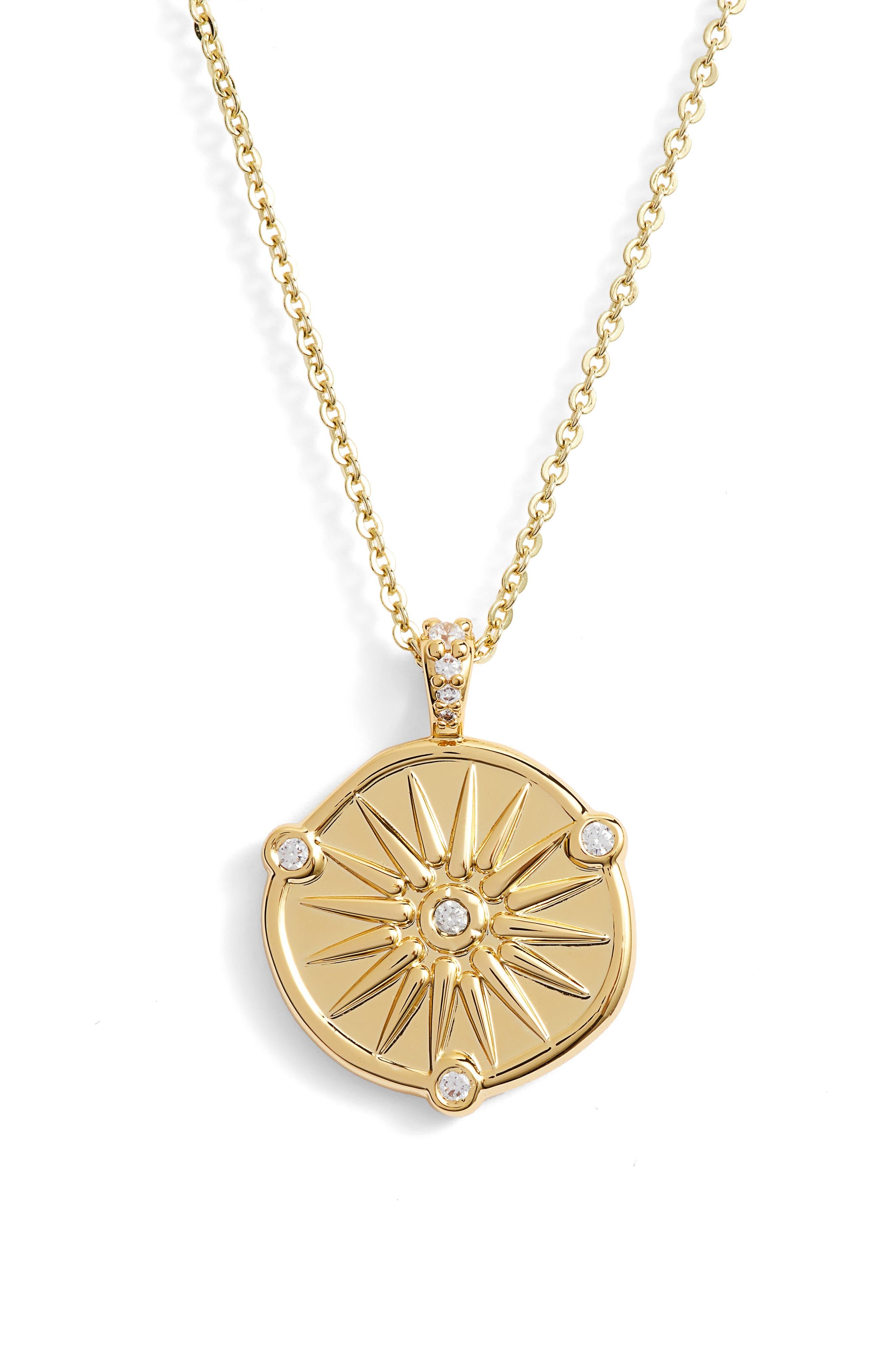 LULU DK Aphrodite Necklace in Gold