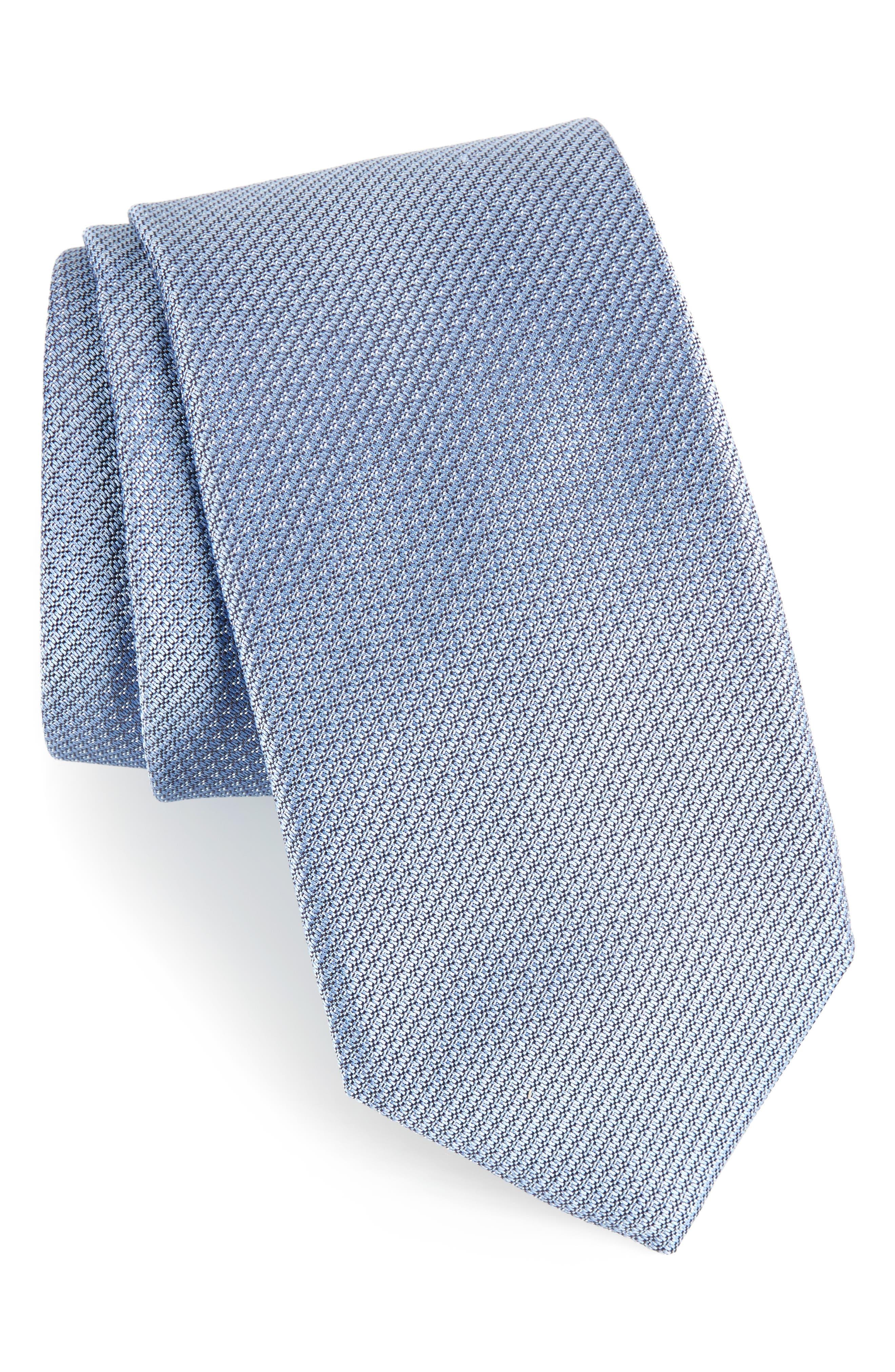 Textured Silk Tie,                         Main,                         color, 412