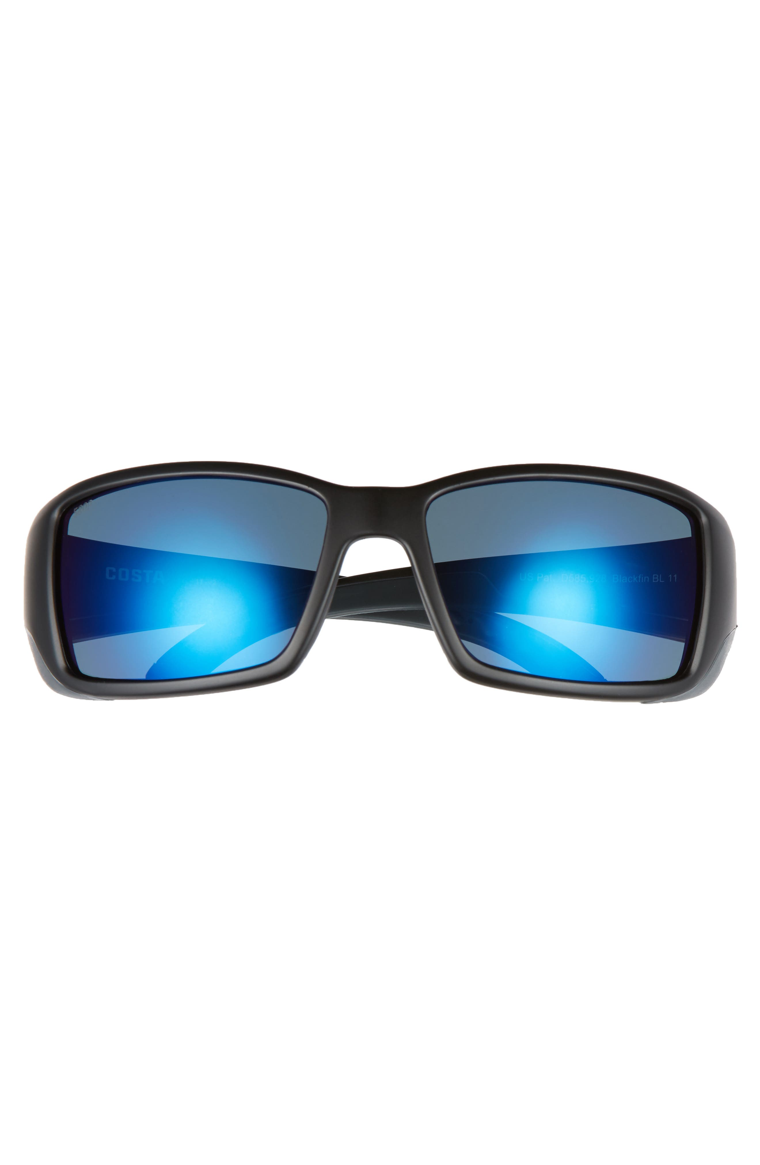 Blackfin 60mm Polarized Sunglasses,                             Alternate thumbnail 2, color,                             001