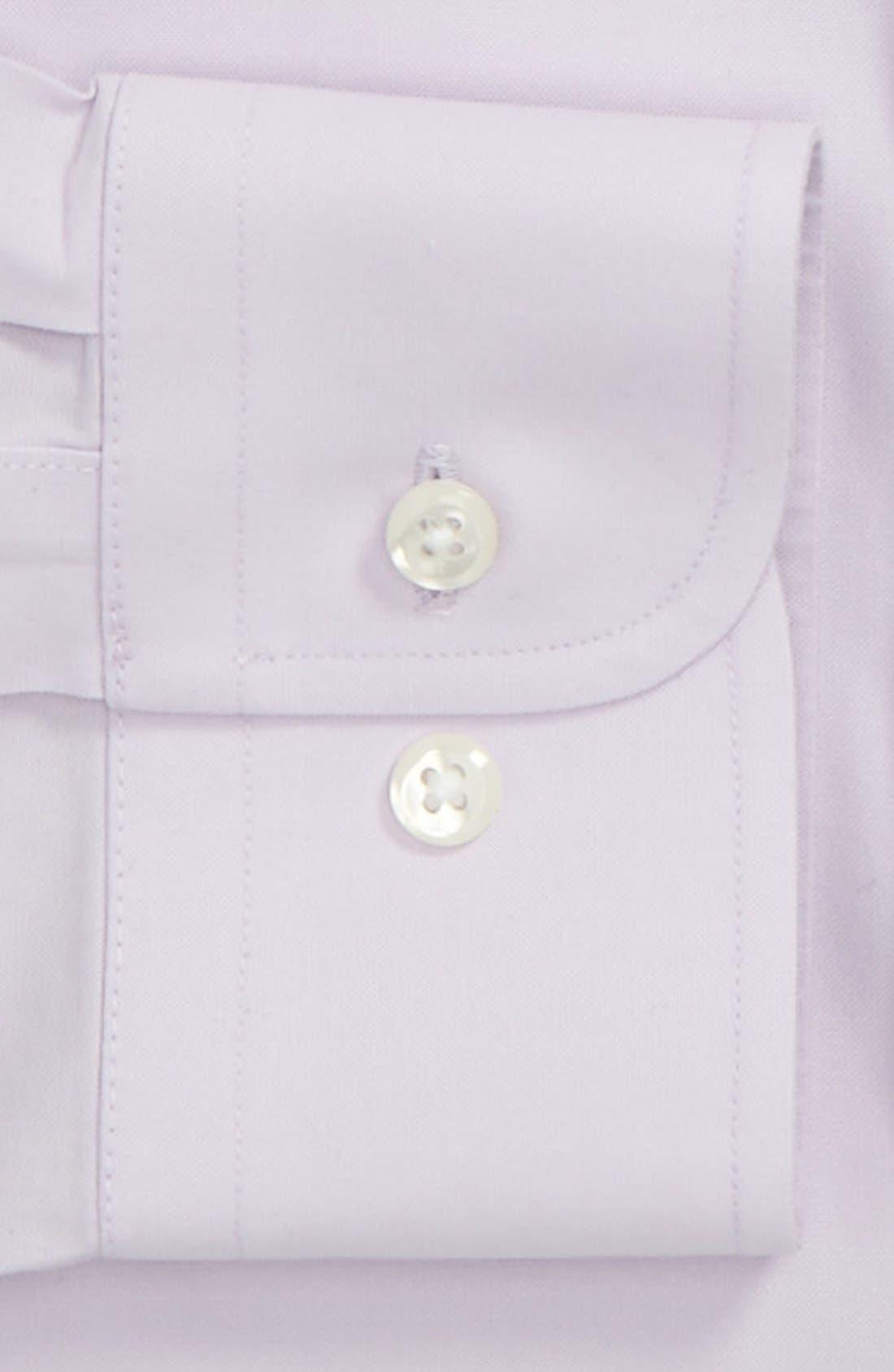 Smartcare<sup>™</sup> Trim Fit Solid Dress Shirt,                             Alternate thumbnail 33, color,