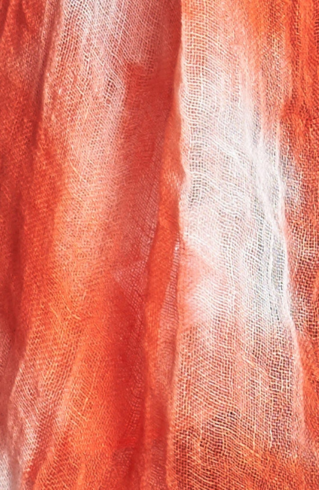 Linen Scarf,                             Alternate thumbnail 3, color,