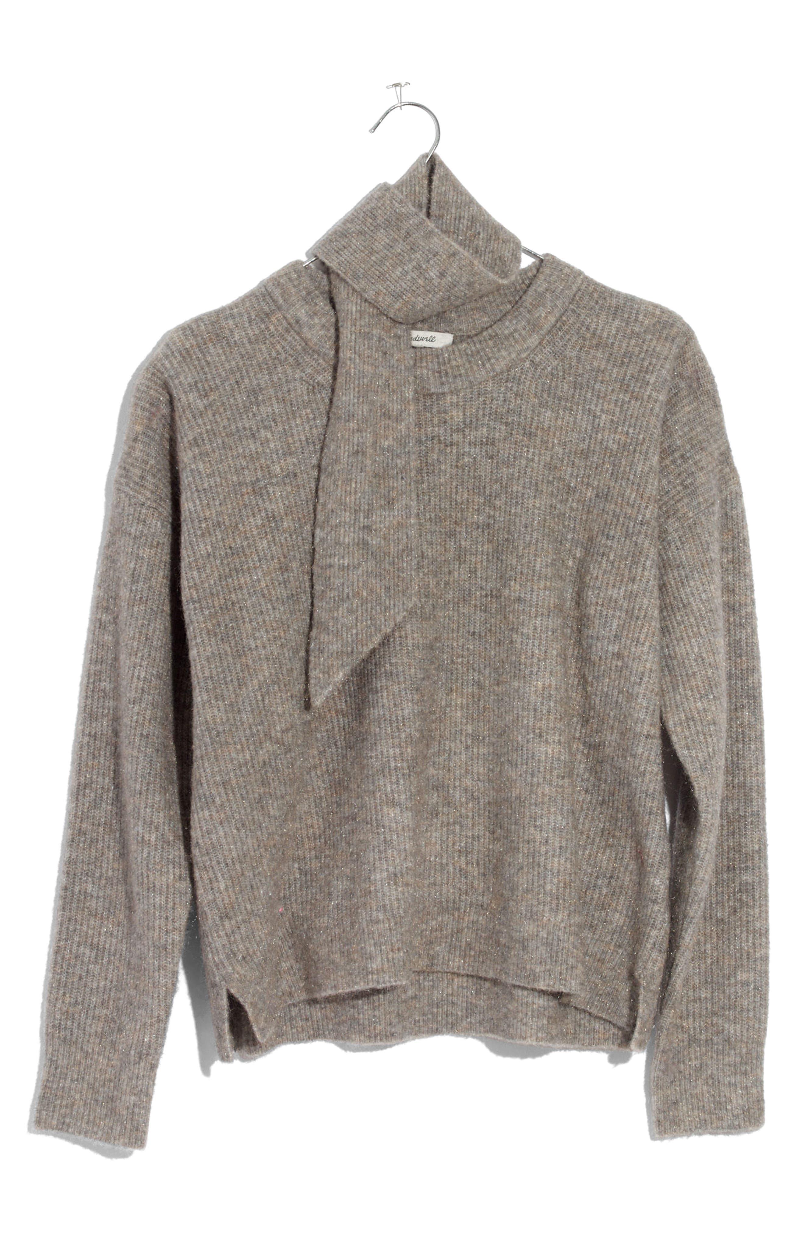 Sweater & Scarf Set,                             Alternate thumbnail 4, color,                             280