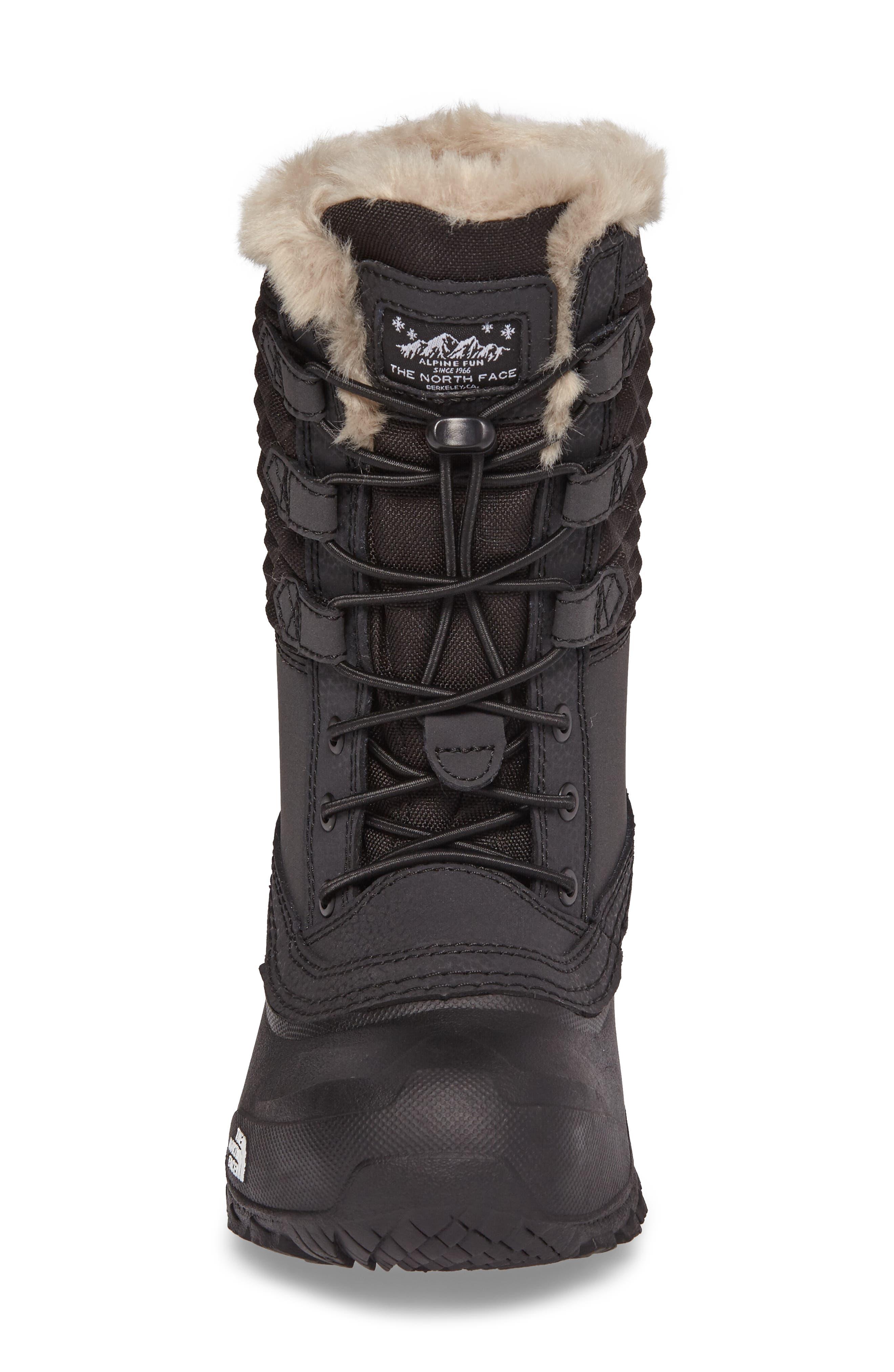 Shellista Lace III Faux Fur Waterproof Boot,                             Alternate thumbnail 10, color,