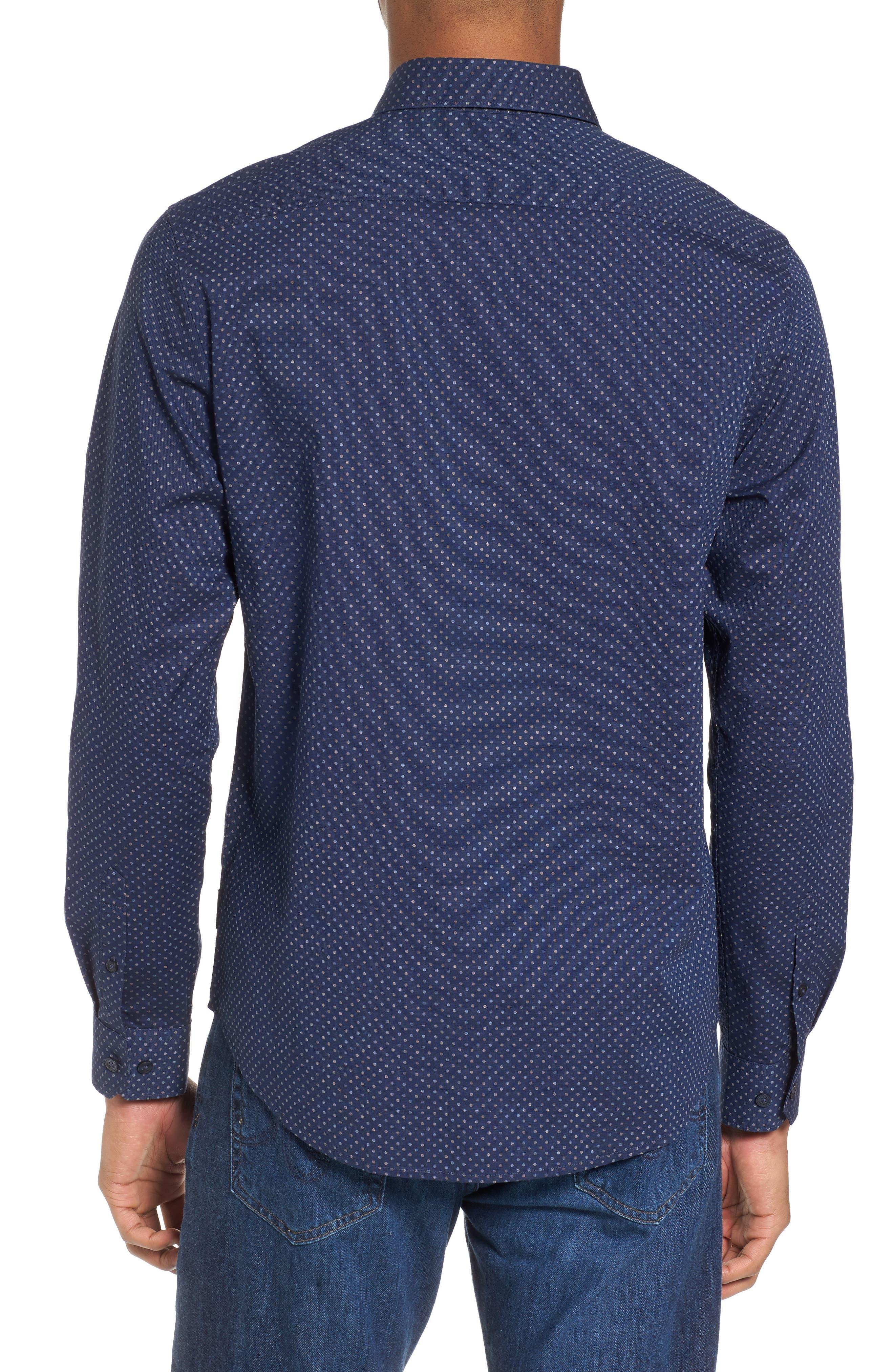 Textured Shirt,                             Alternate thumbnail 2, color,                             410