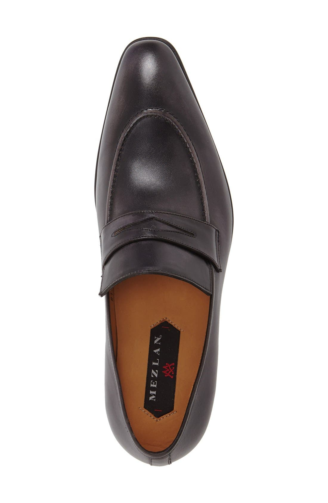 'Bione' Penny Loafer,                             Alternate thumbnail 3, color,                             008