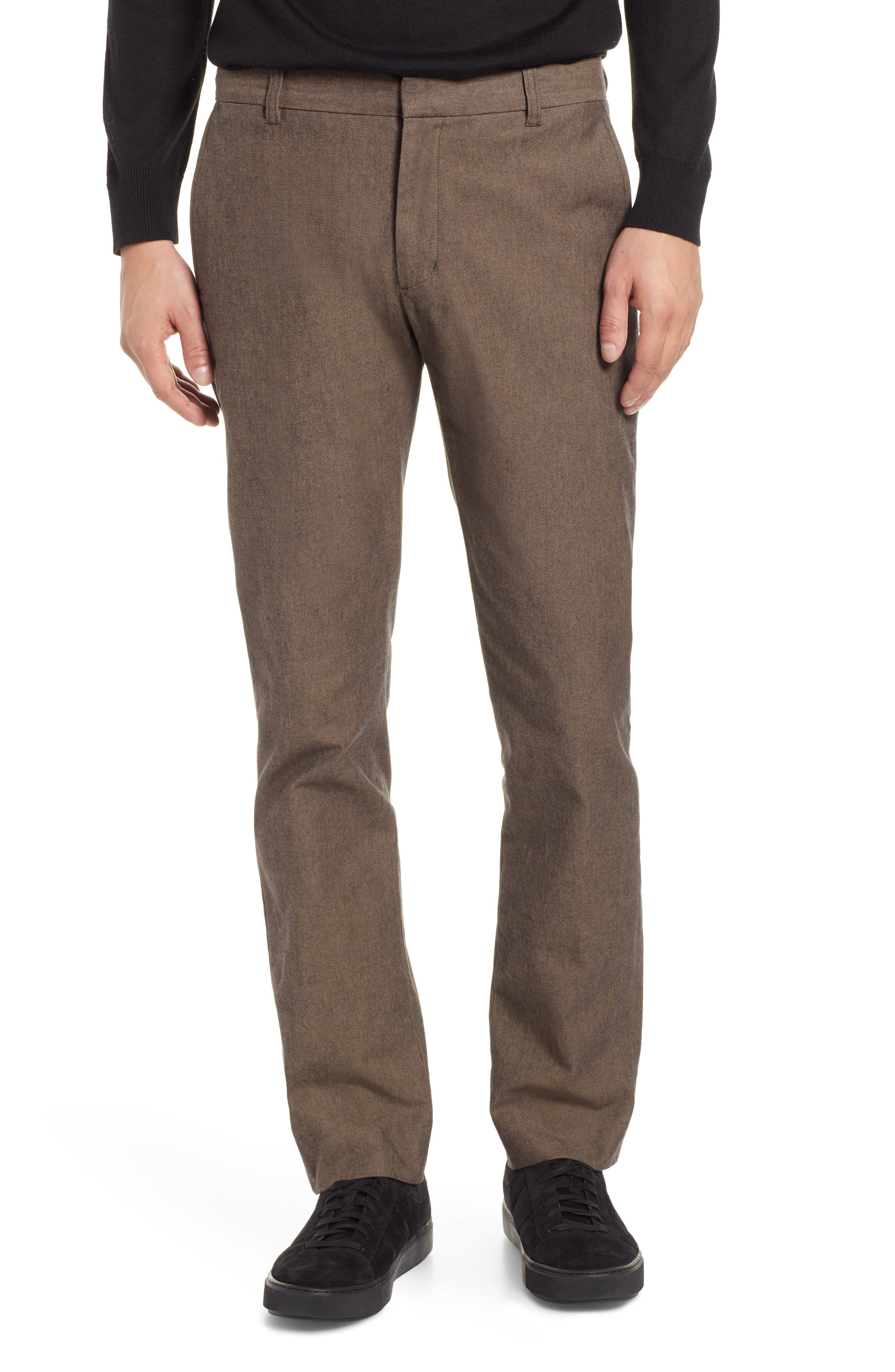 Griffith Slim Fit Chinos,                             Main thumbnail 1, color,                             OAK