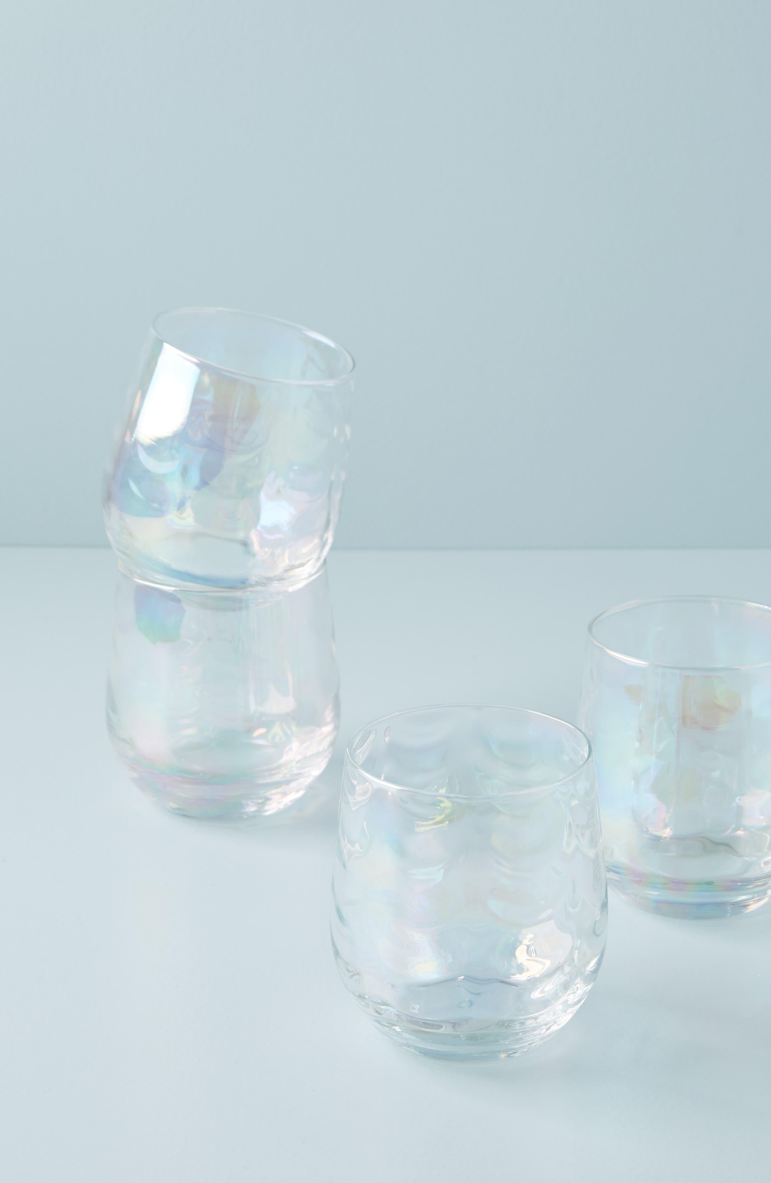 Katana Stemless Wine Glass,                             Alternate thumbnail 4, color,                             123
