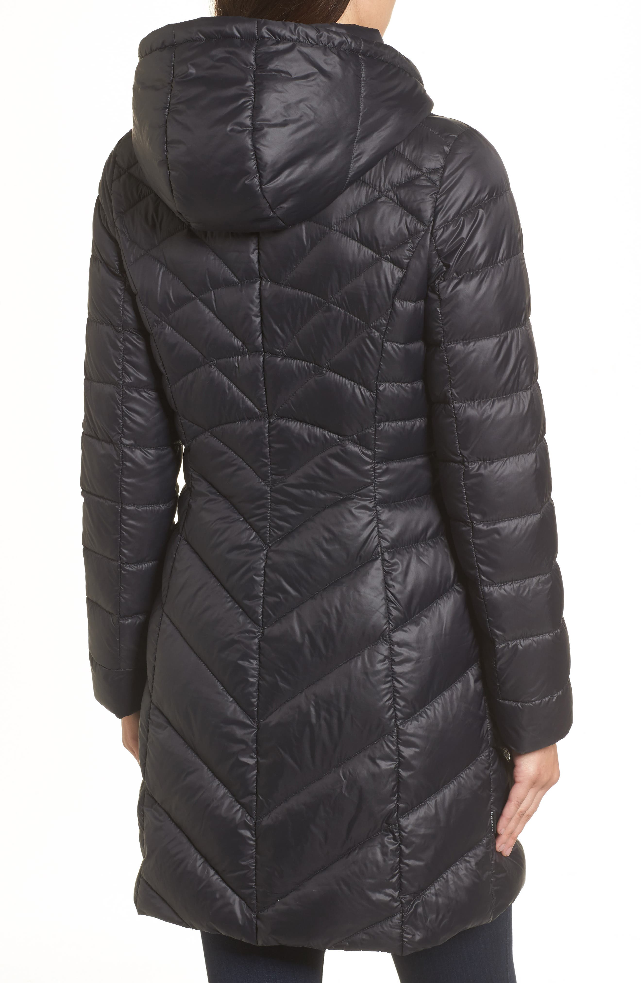 Hooded Down Puffer Jacket,                             Alternate thumbnail 2, color,                             001