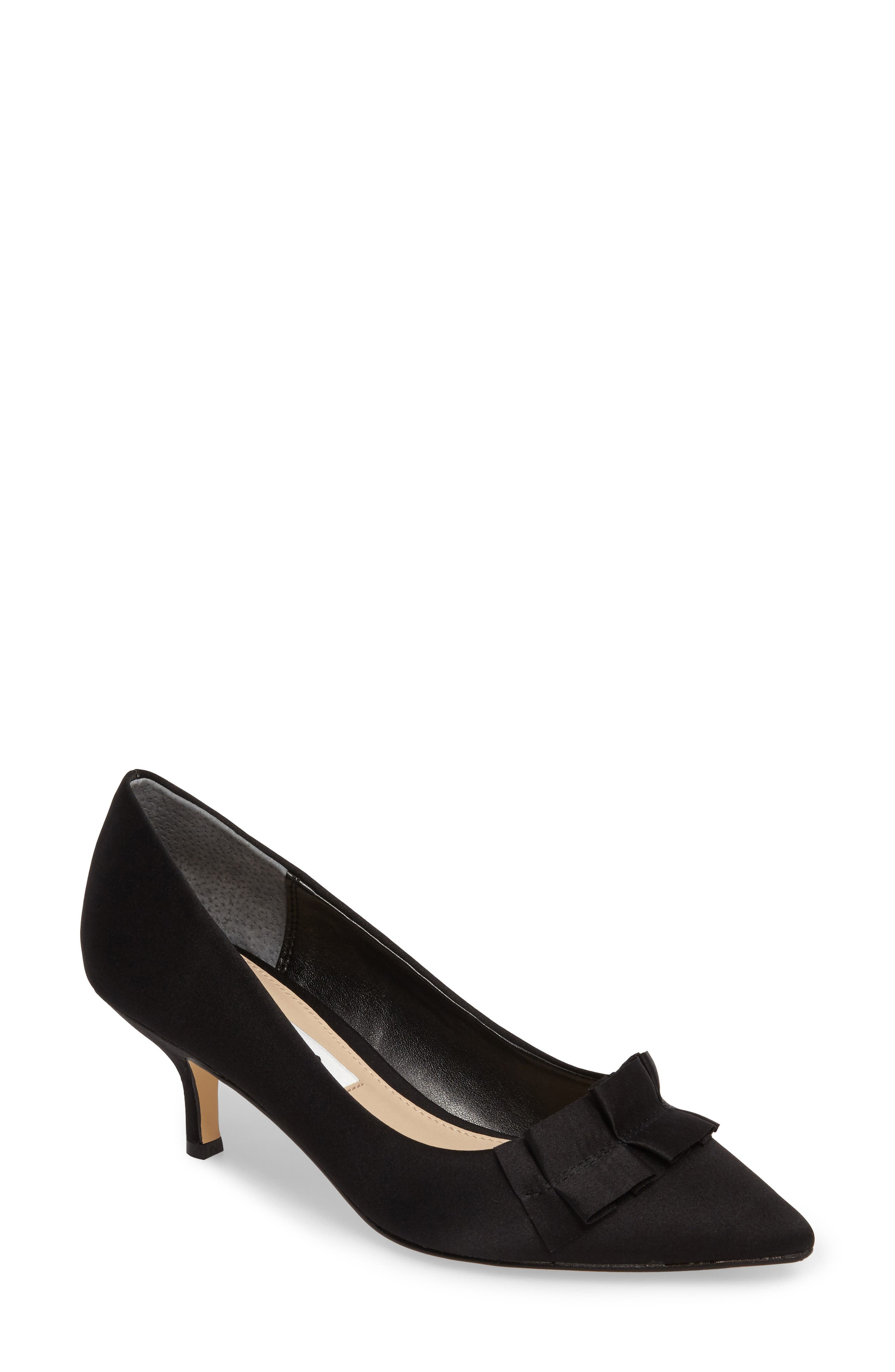 Thea Pointy Toe Pump,                         Main,                         color, 003
