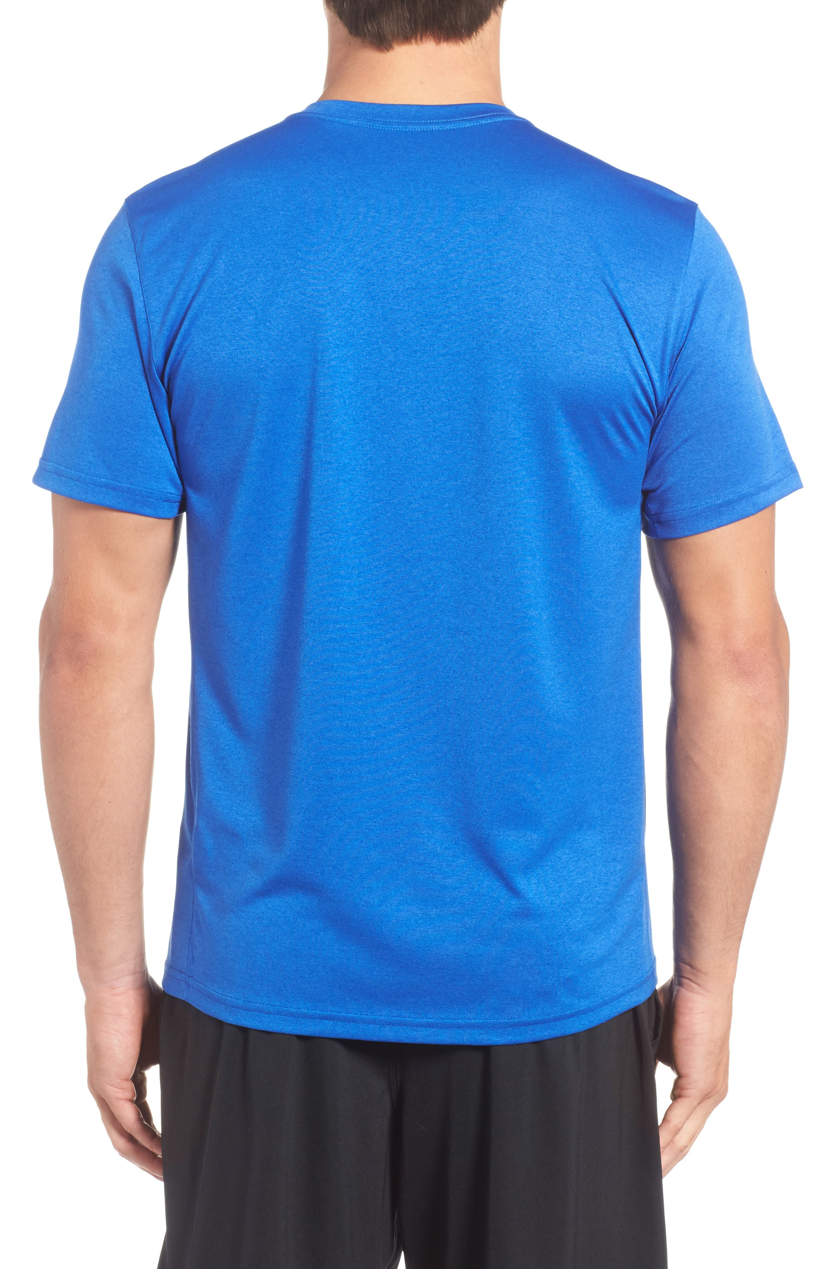 'Legend 2.0' Dri-FIT Training T-Shirt,                             Alternate thumbnail 2, color,                             GAME ROYAL/ BLACK/ BLACK