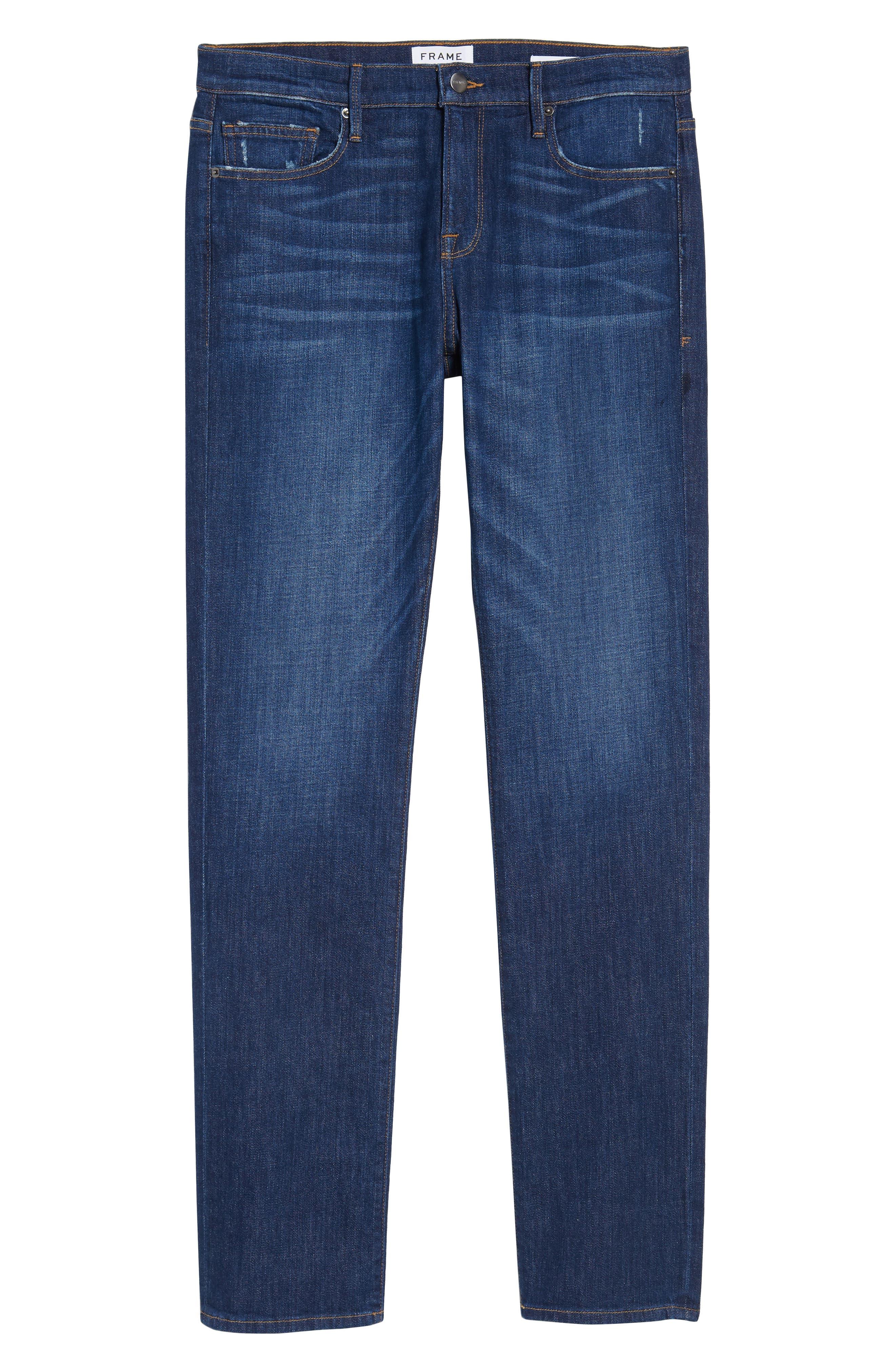 L'Homme Slim Fit Jeans,                             Alternate thumbnail 6, color,                             420
