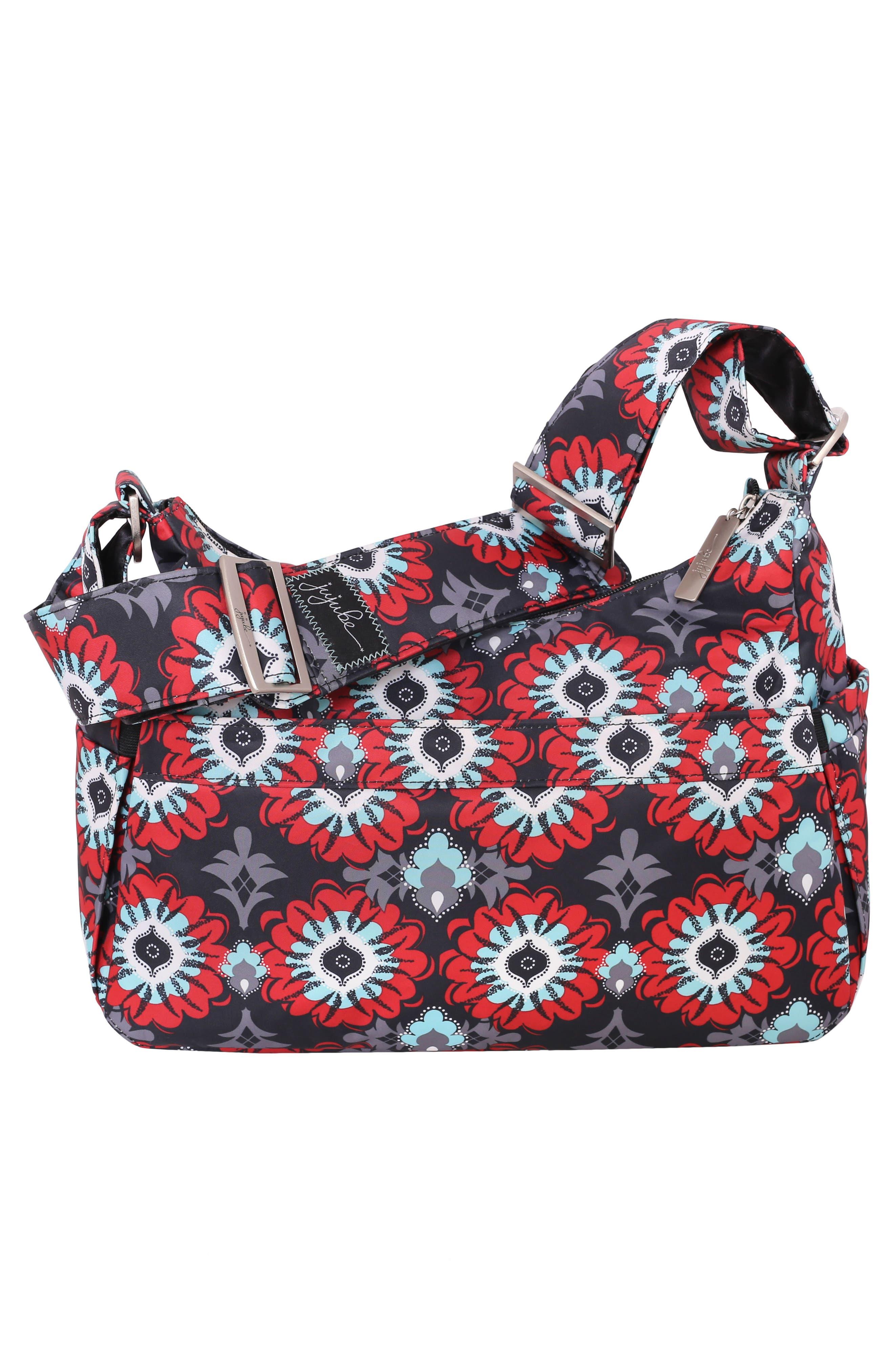 'HoboBe' Diaper Bag,                             Alternate thumbnail 2, color,                             SWEET SCARLET