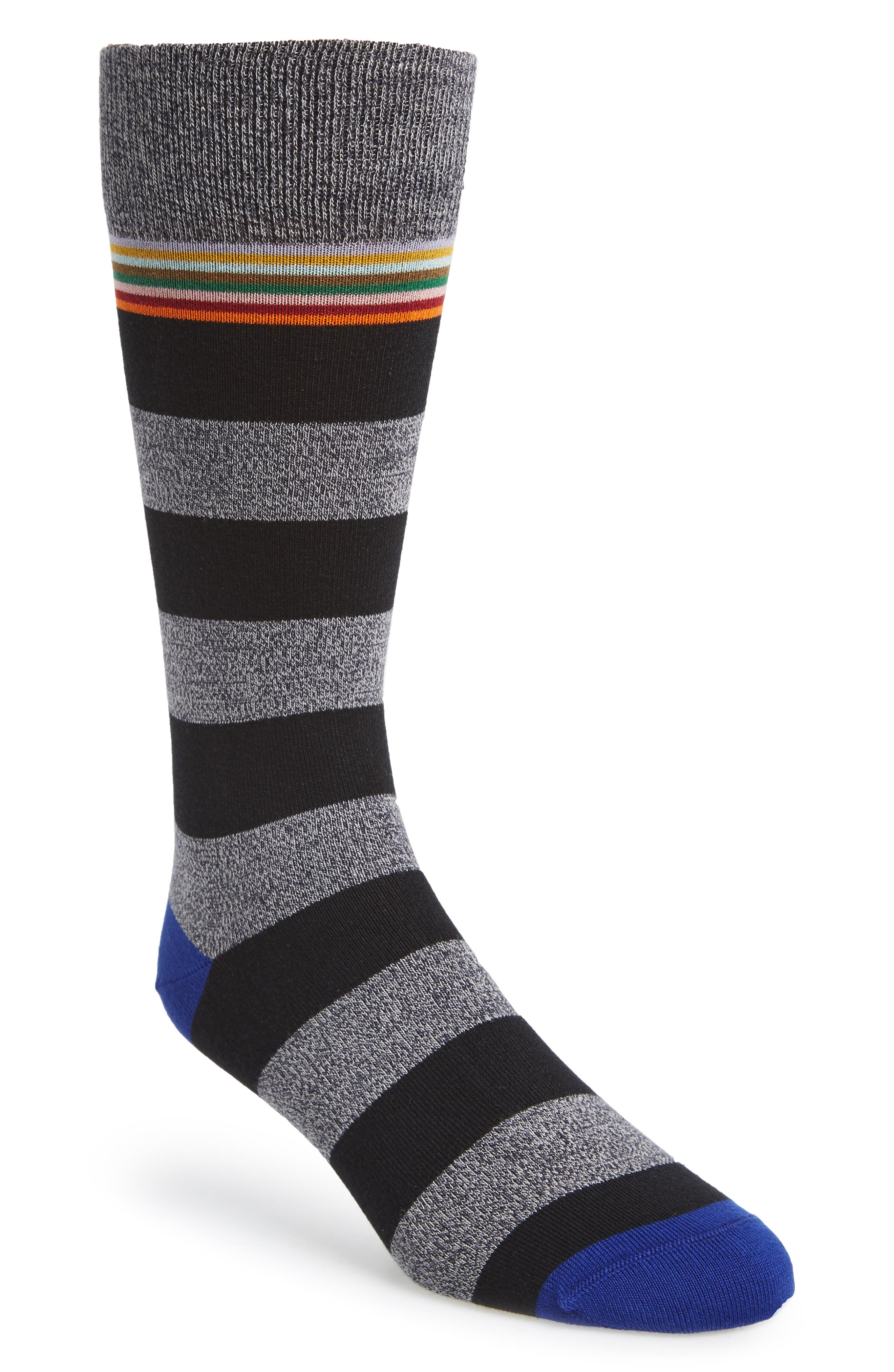 Stripe Socks,                             Main thumbnail 3, color,
