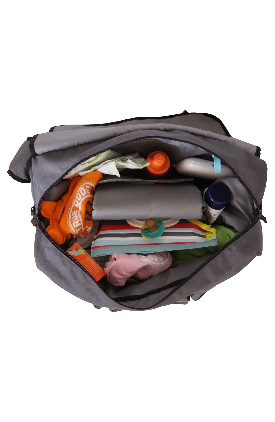 Messenger III Diaper Bag,                             Alternate thumbnail 4, color,                             020