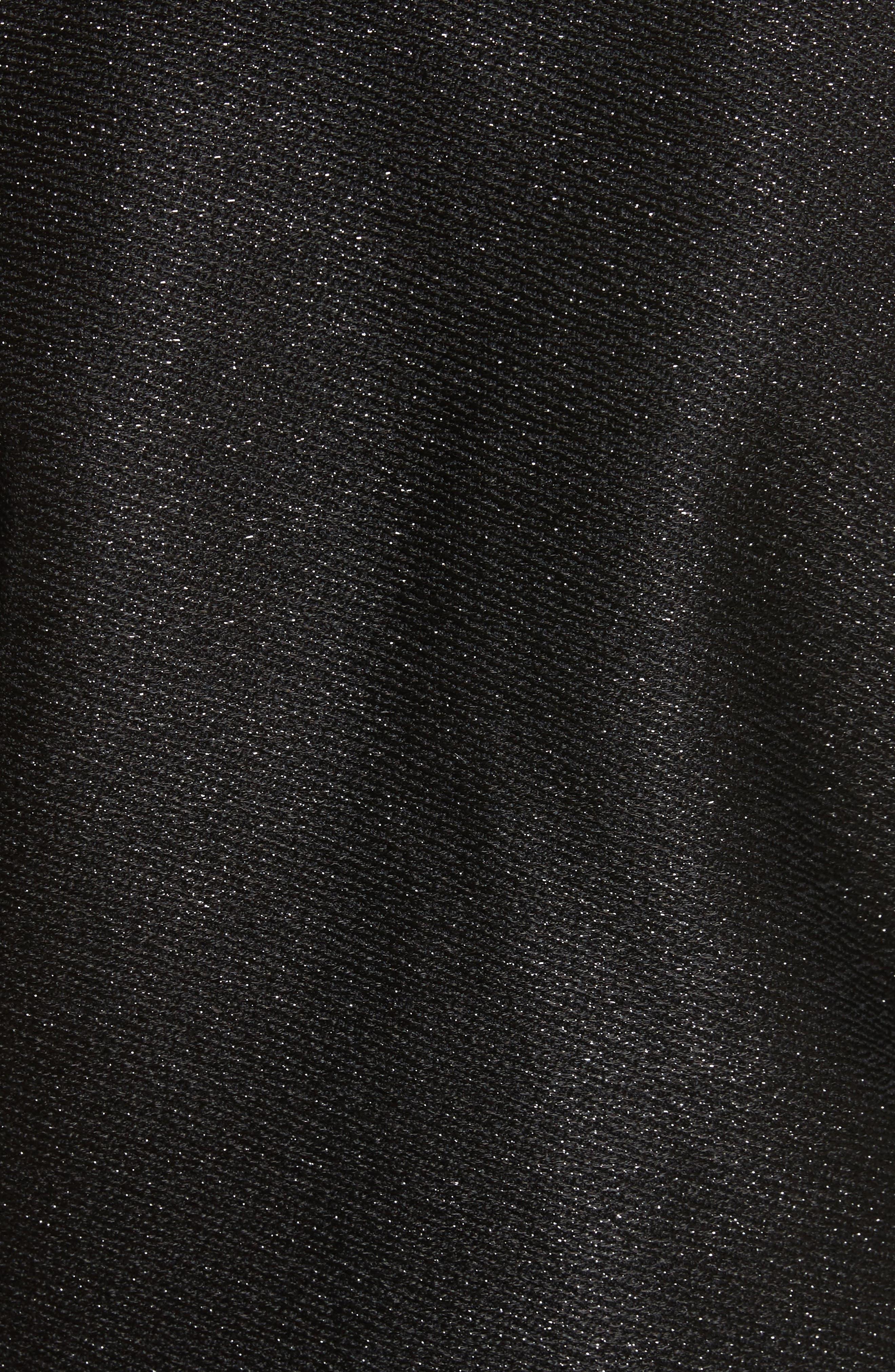 Cholanja Metallic Jacket,                             Alternate thumbnail 6, color,                             001