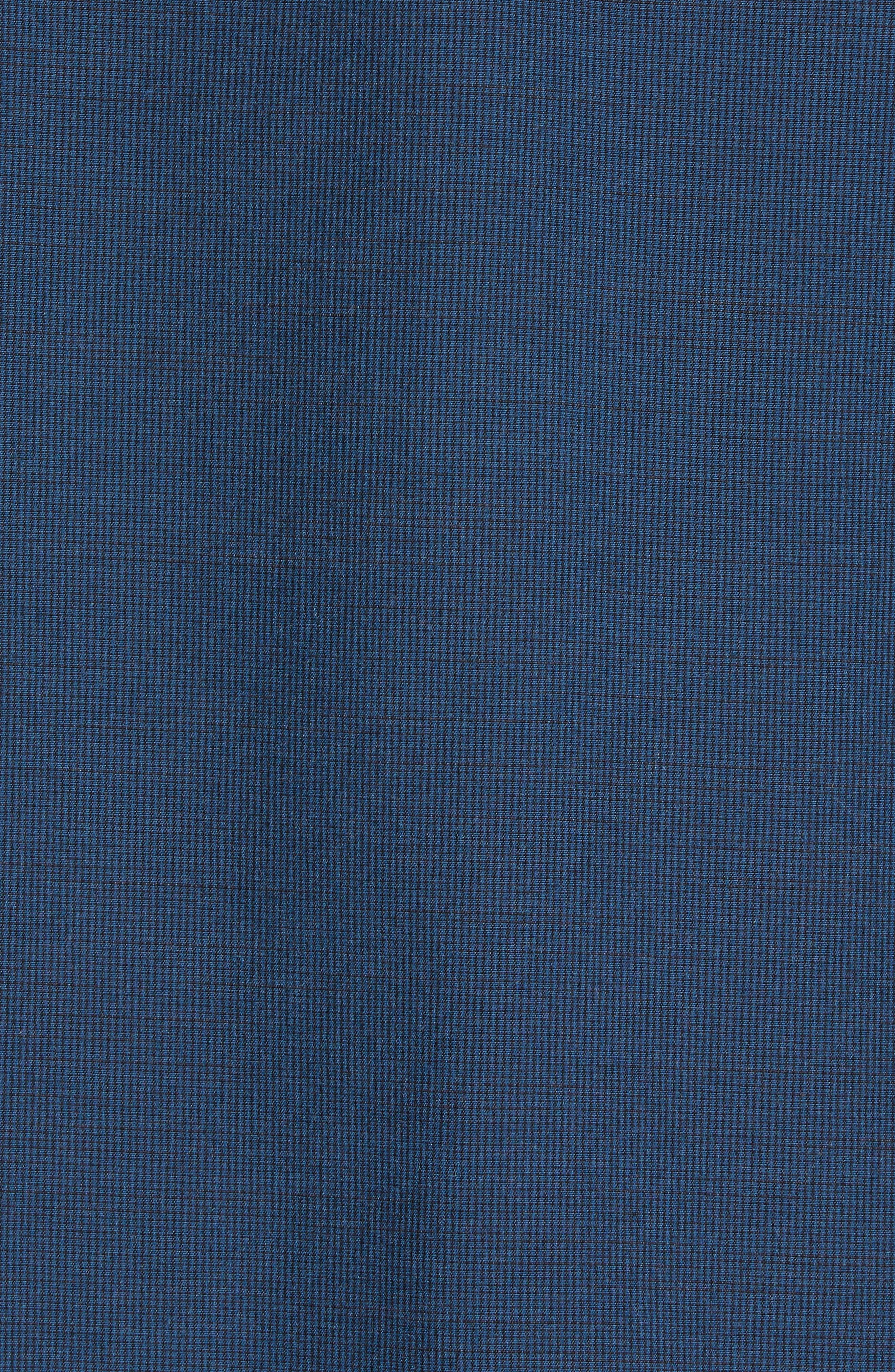 Ridgley Regular Fit Jacket,                             Alternate thumbnail 6, color,                             BLUE WING TEAL/ BLACK