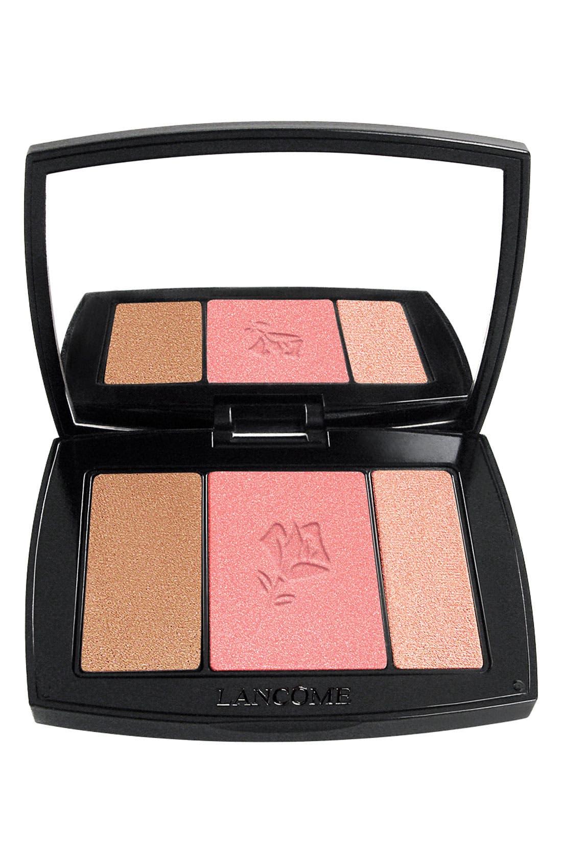 Blush Subtil All-In-One Contour, Blush & Highlighter Palette,                             Main thumbnail 1, color,                             323 ROSE FLUSH