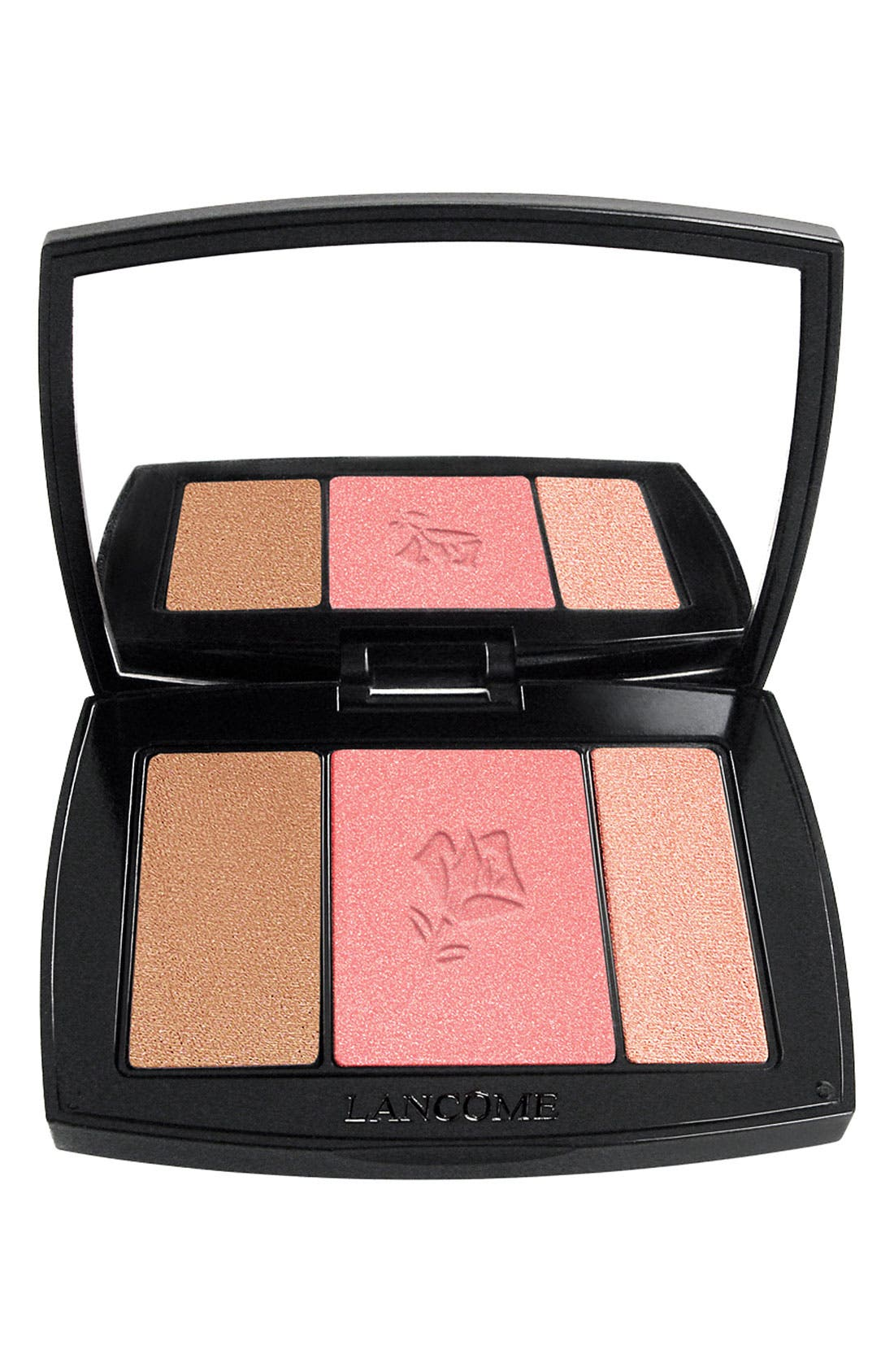 Blush Subtil All-In-One Contour, Blush & Highlighter Palette,                         Main,                         color, 323 ROSE FLUSH