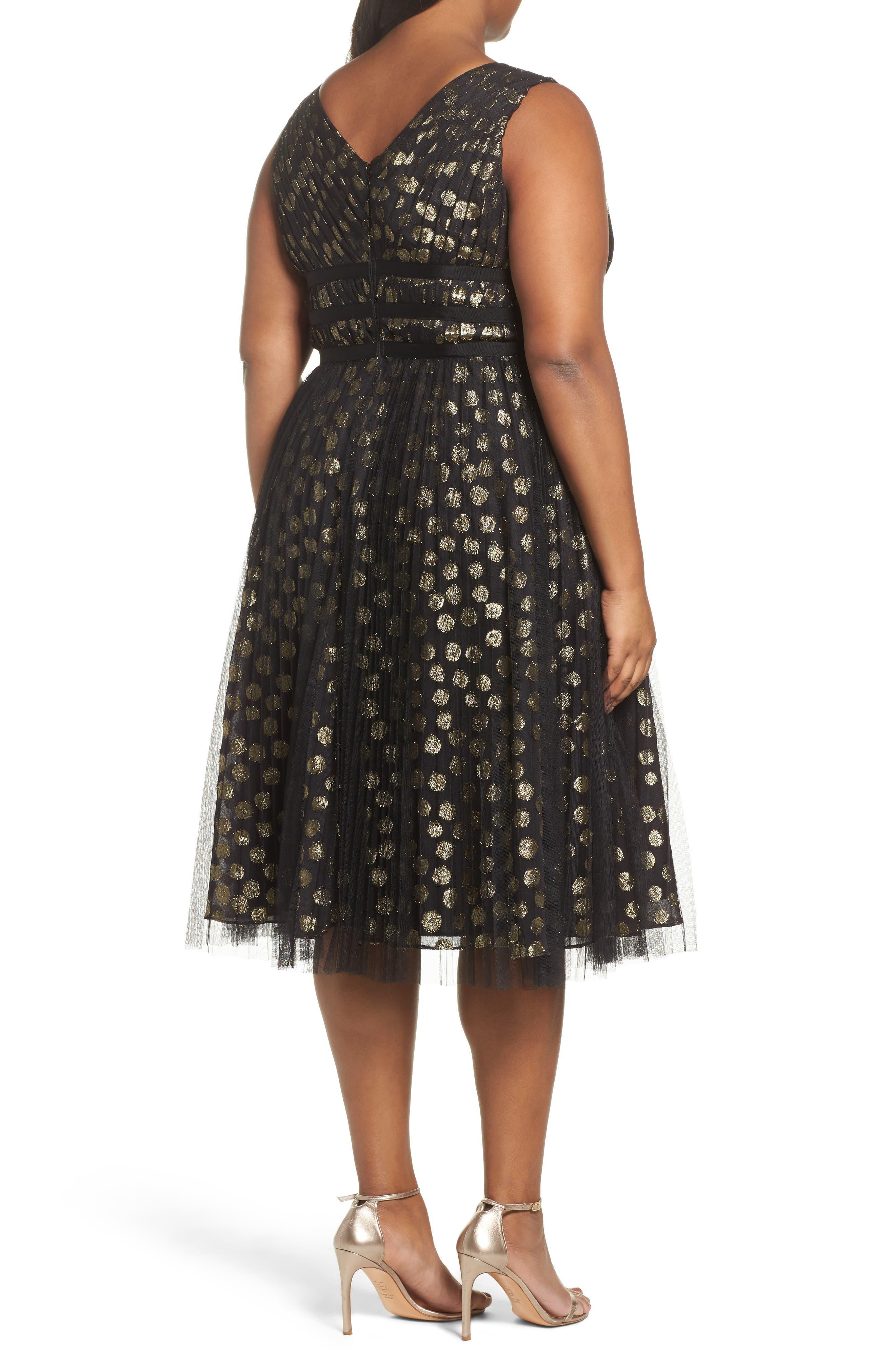 Shirred Metallic Dress,                             Alternate thumbnail 2, color,                             001