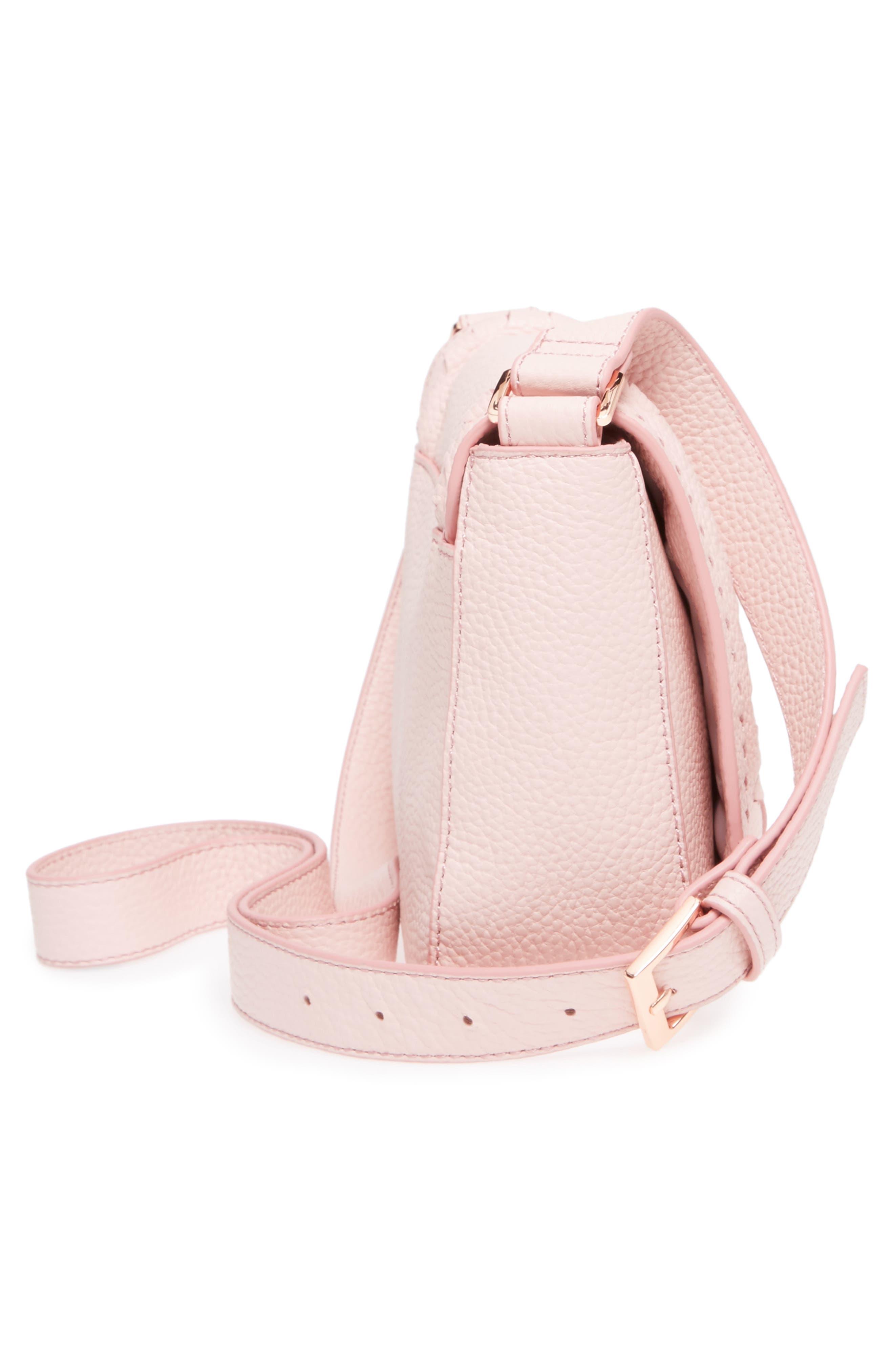 Tippi Leather Crossbody Bag,                             Alternate thumbnail 15, color,