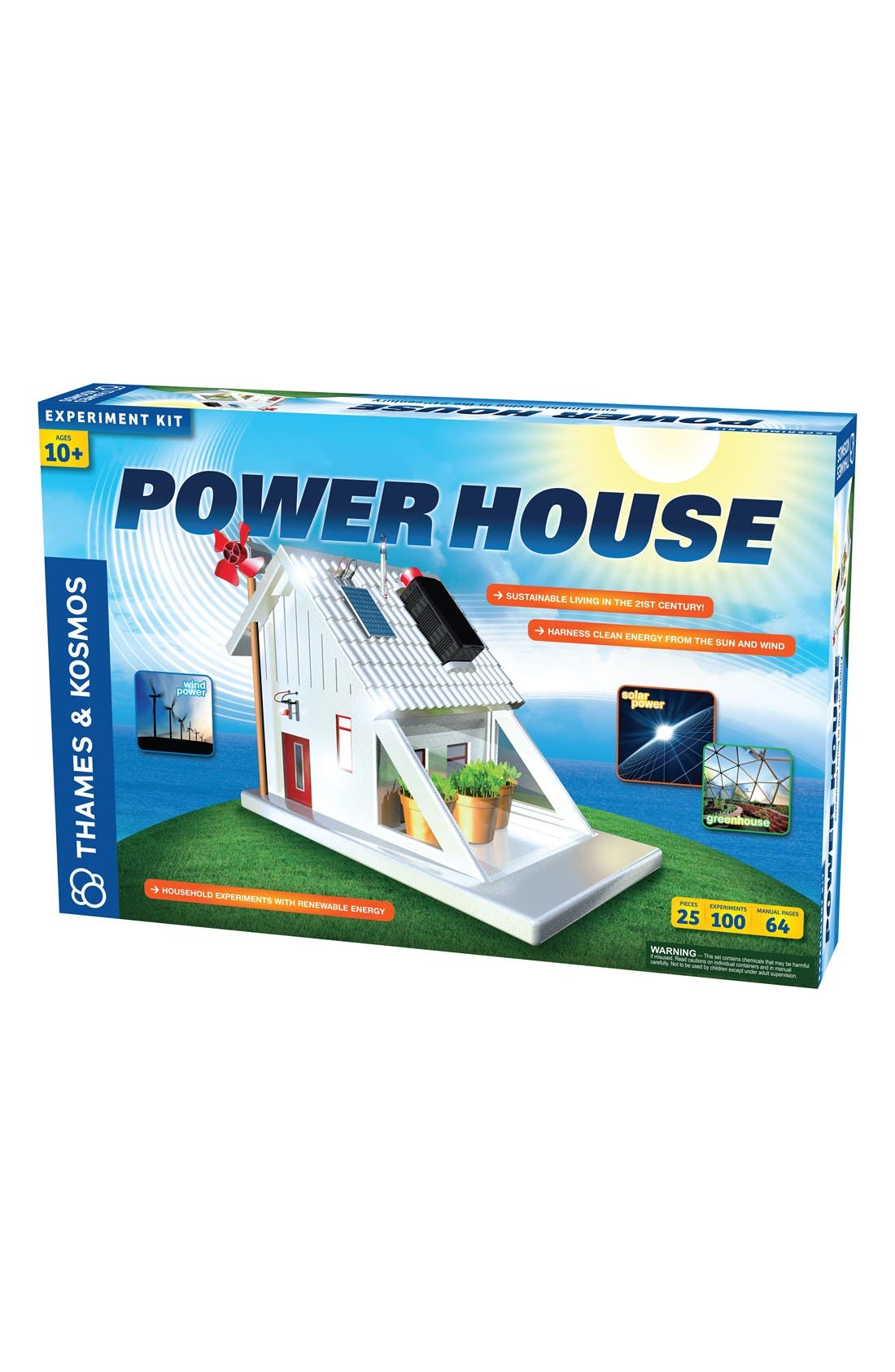 'Power House (V 2.0)' Experiment Kit,                         Main,                         color, NO COLOR