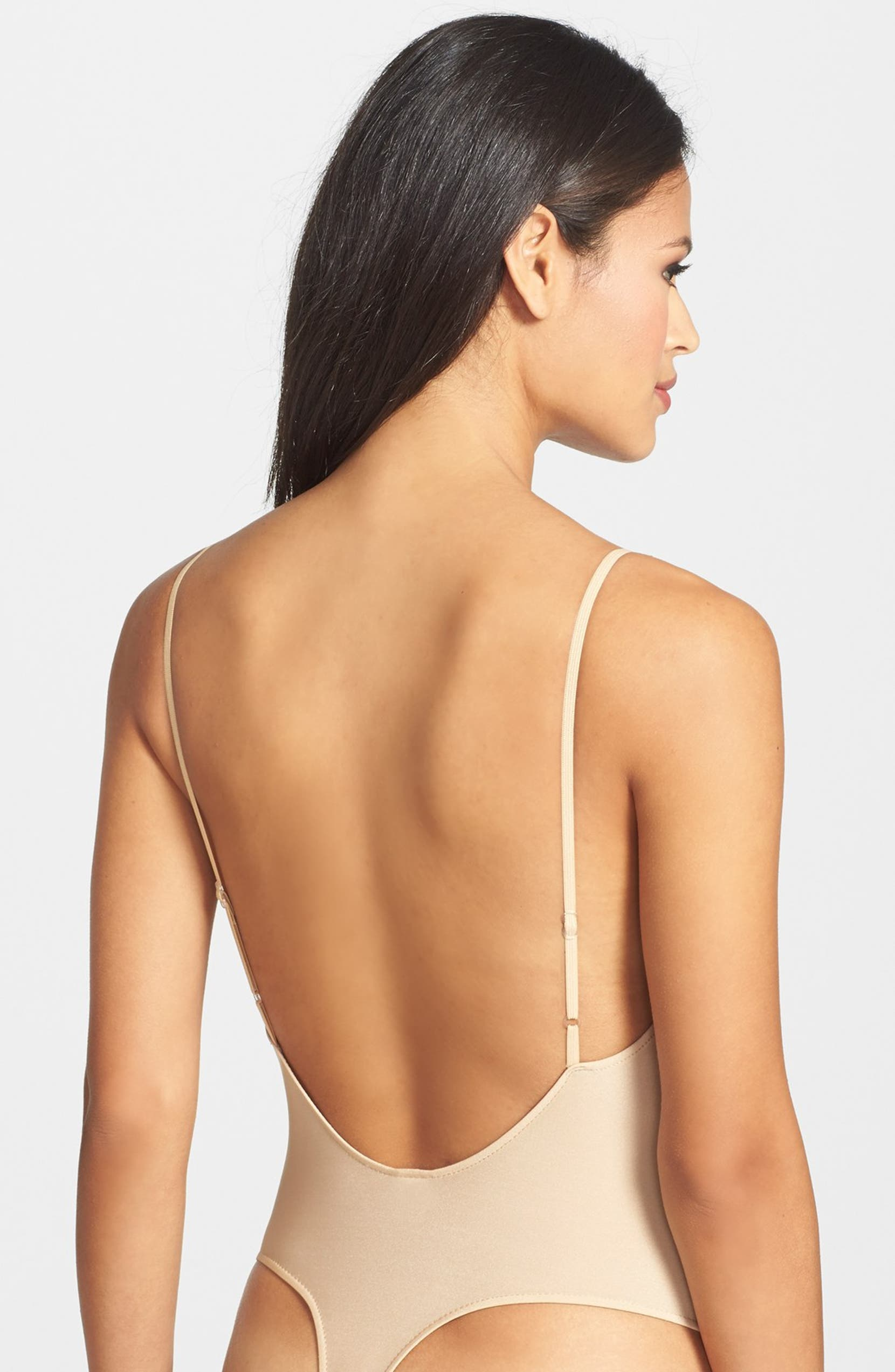 d14d13cac6 Only Hearts  Second Skin  Low Back Thong Bodysuit