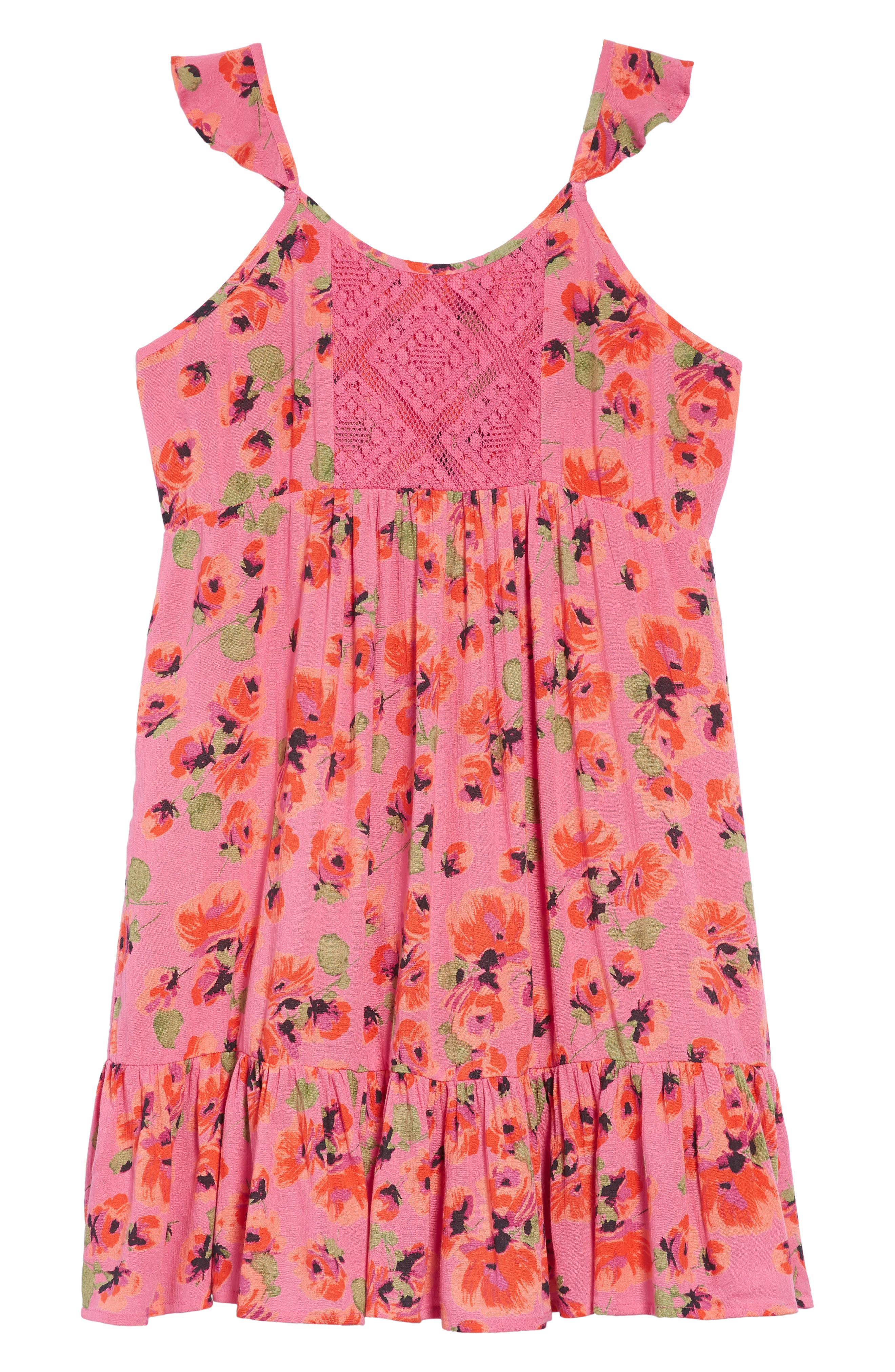 Sundazer Floral Dress,                             Main thumbnail 1, color,                             655