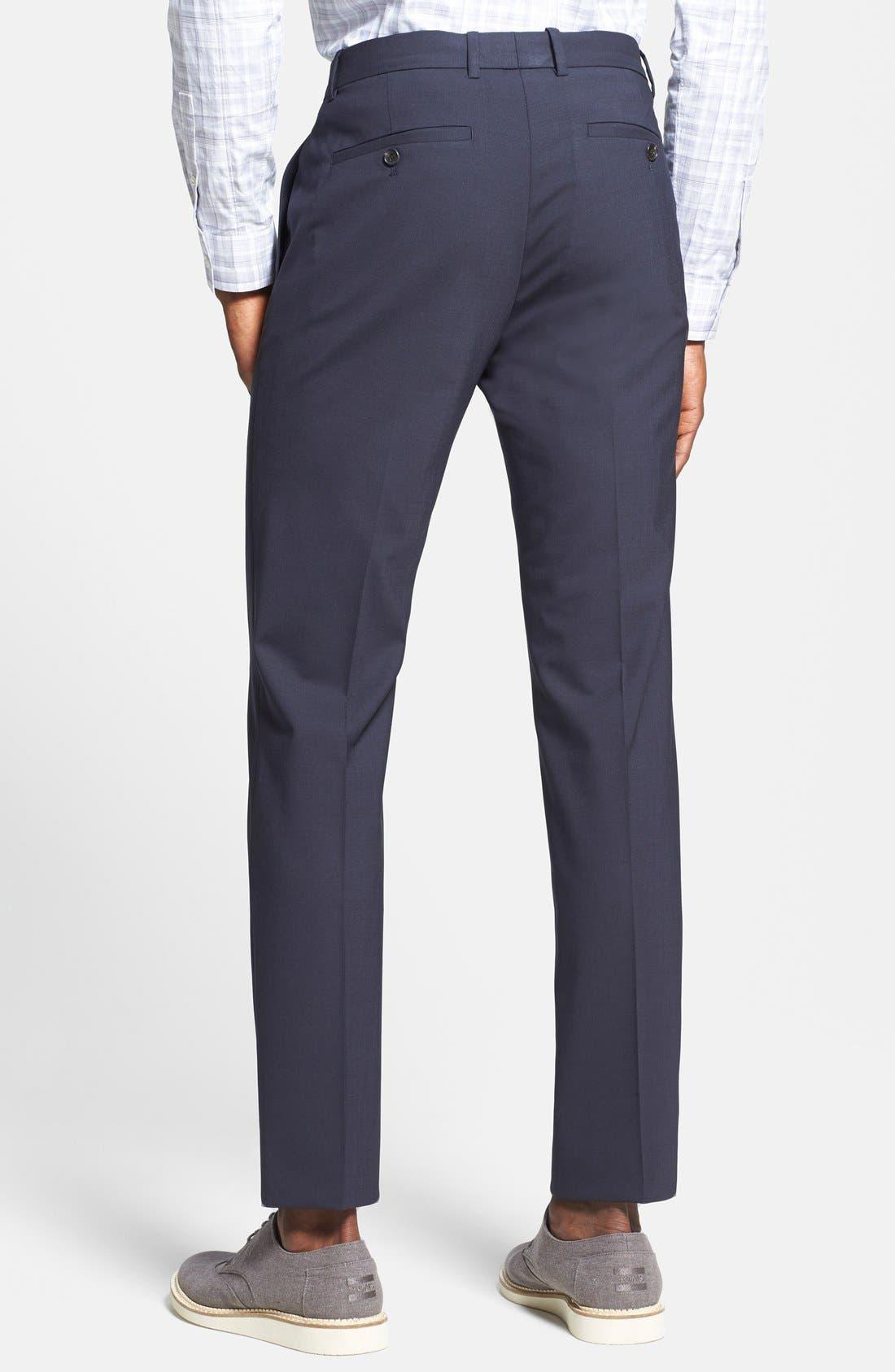 'Marlo New Tailor' Slim Fit Pants,                             Alternate thumbnail 13, color,