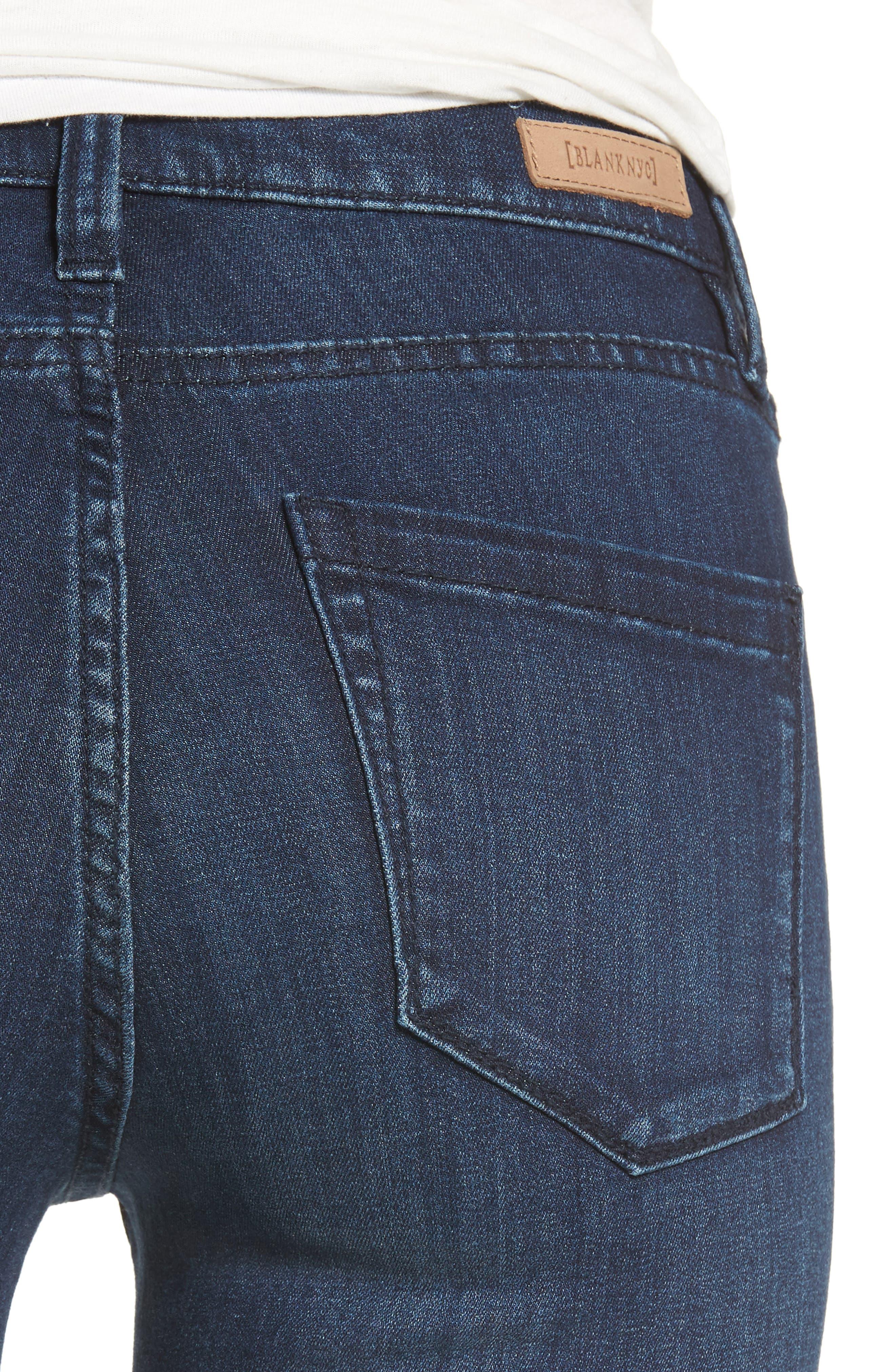 The Bond Stretch Skinny Jeans,                             Alternate thumbnail 4, color,                             400