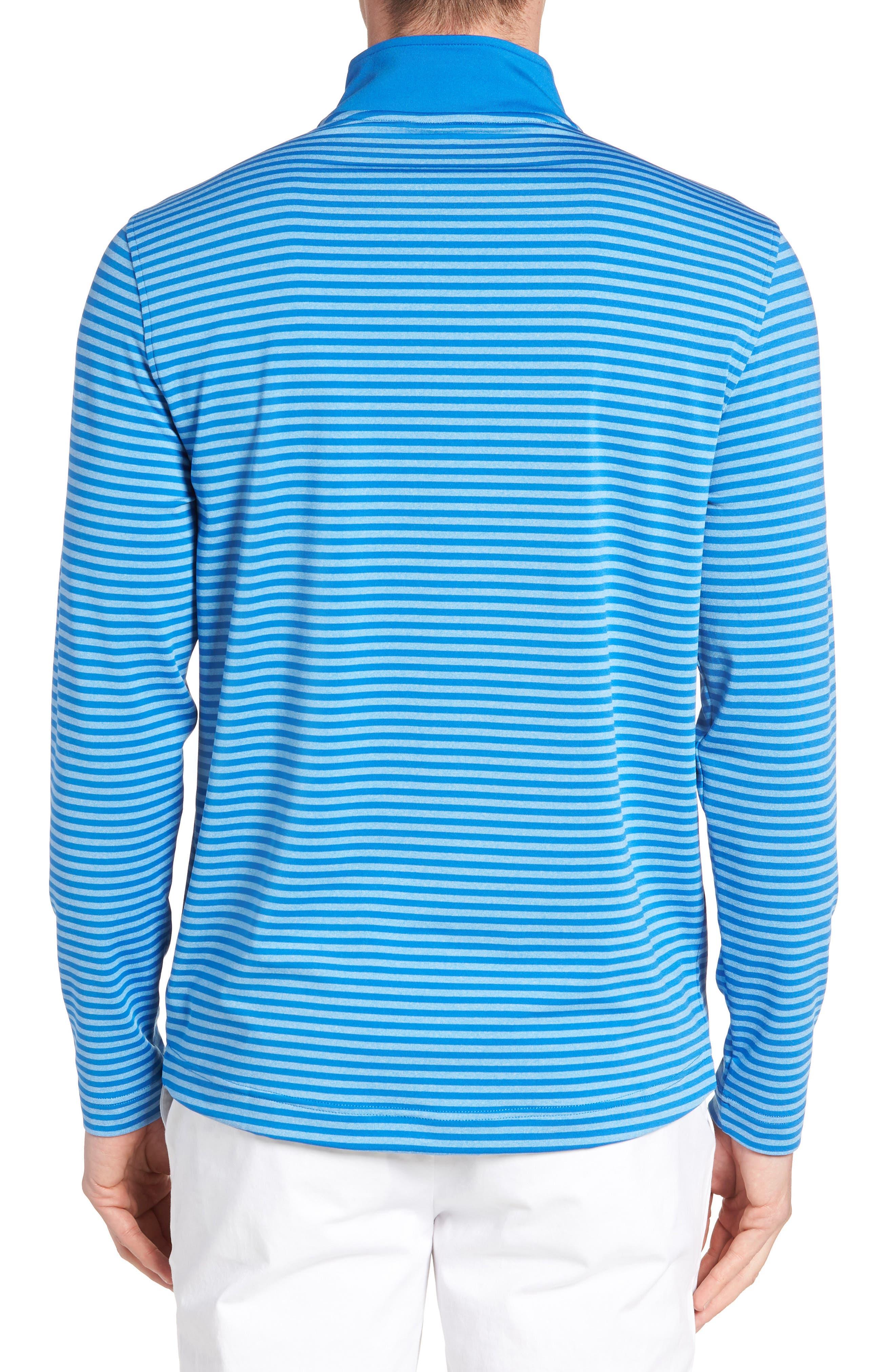 SOUTHERN TIDE,                             Stripe Quarter Zip Pullover,                             Alternate thumbnail 2, color,                             400