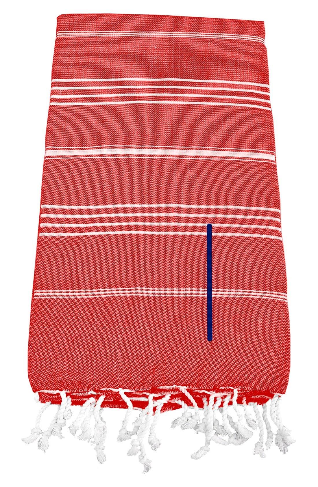 Monogram Turkish Cotton Towel,                             Main thumbnail 118, color,