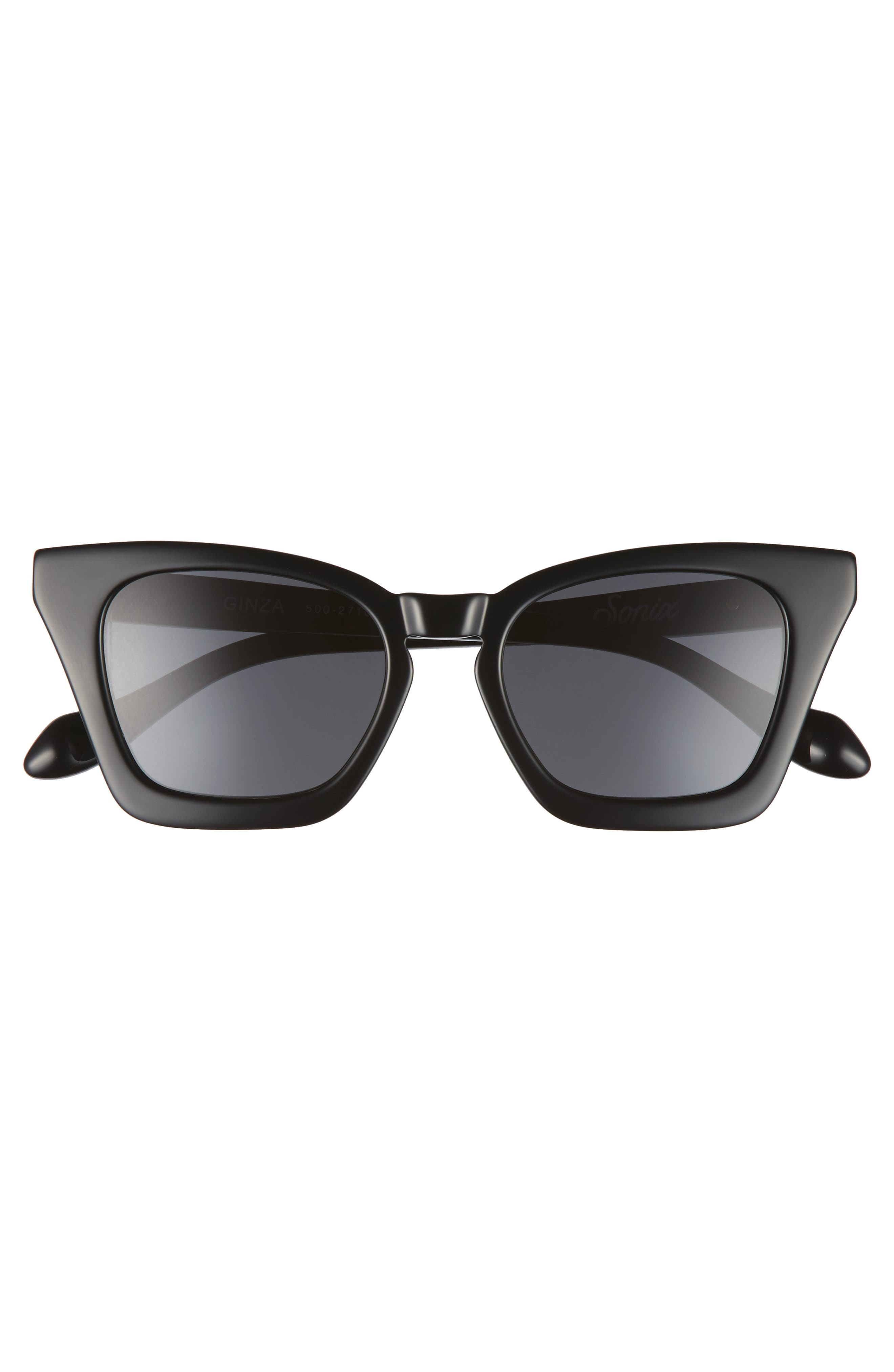 Ginza 50mm Cat Eye Sunglasses,                             Alternate thumbnail 3, color,                             001