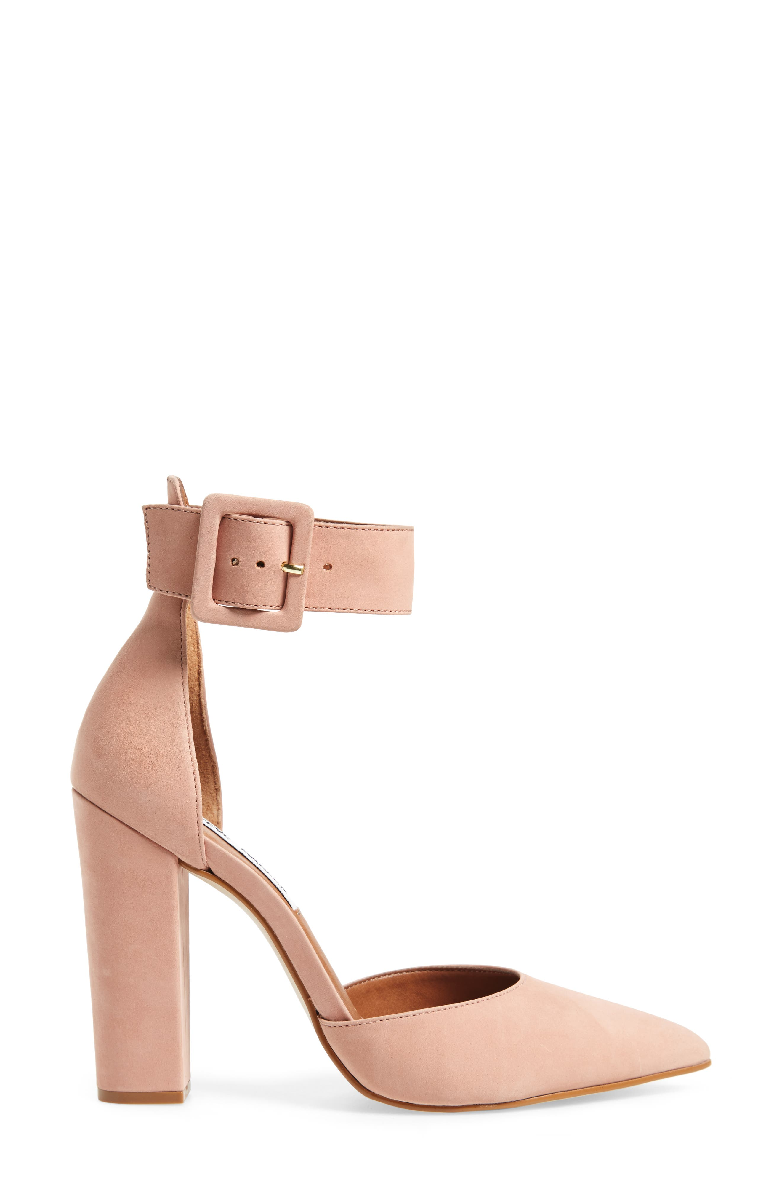 Posted Ankle Strap Pump,                             Alternate thumbnail 9, color,