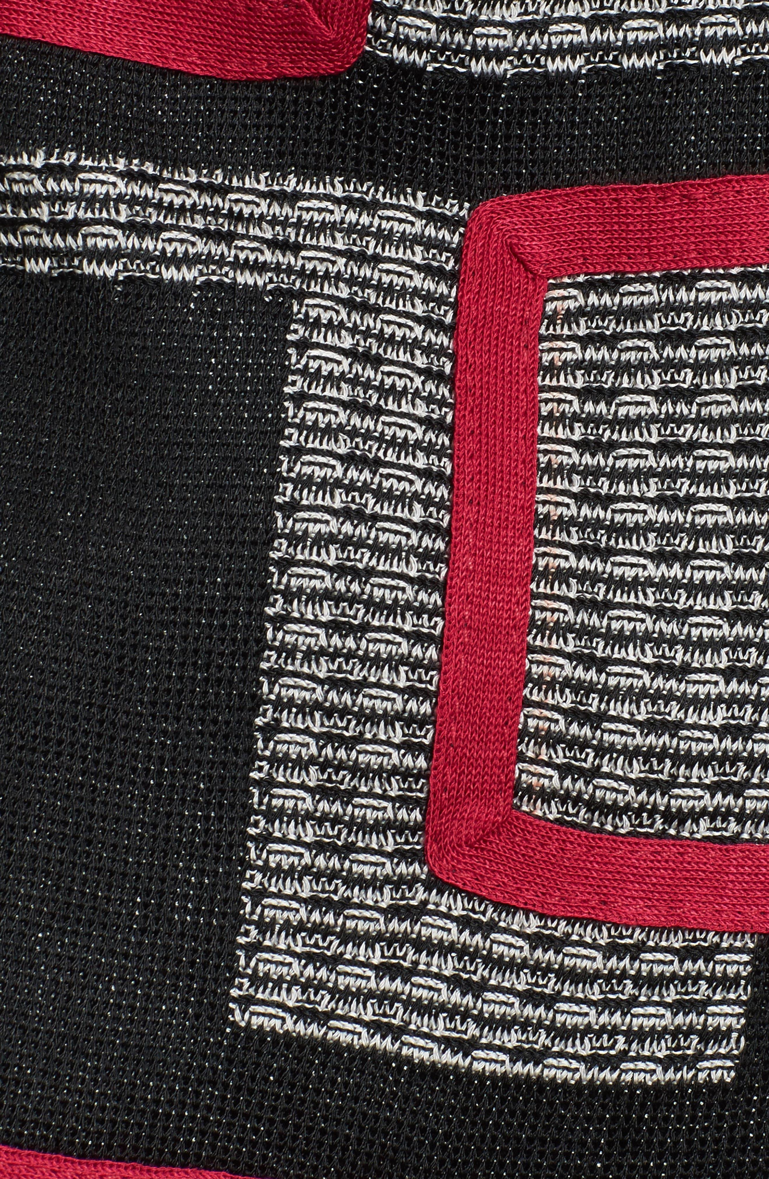 Textured Knit Long Jacket,                             Alternate thumbnail 6, color,