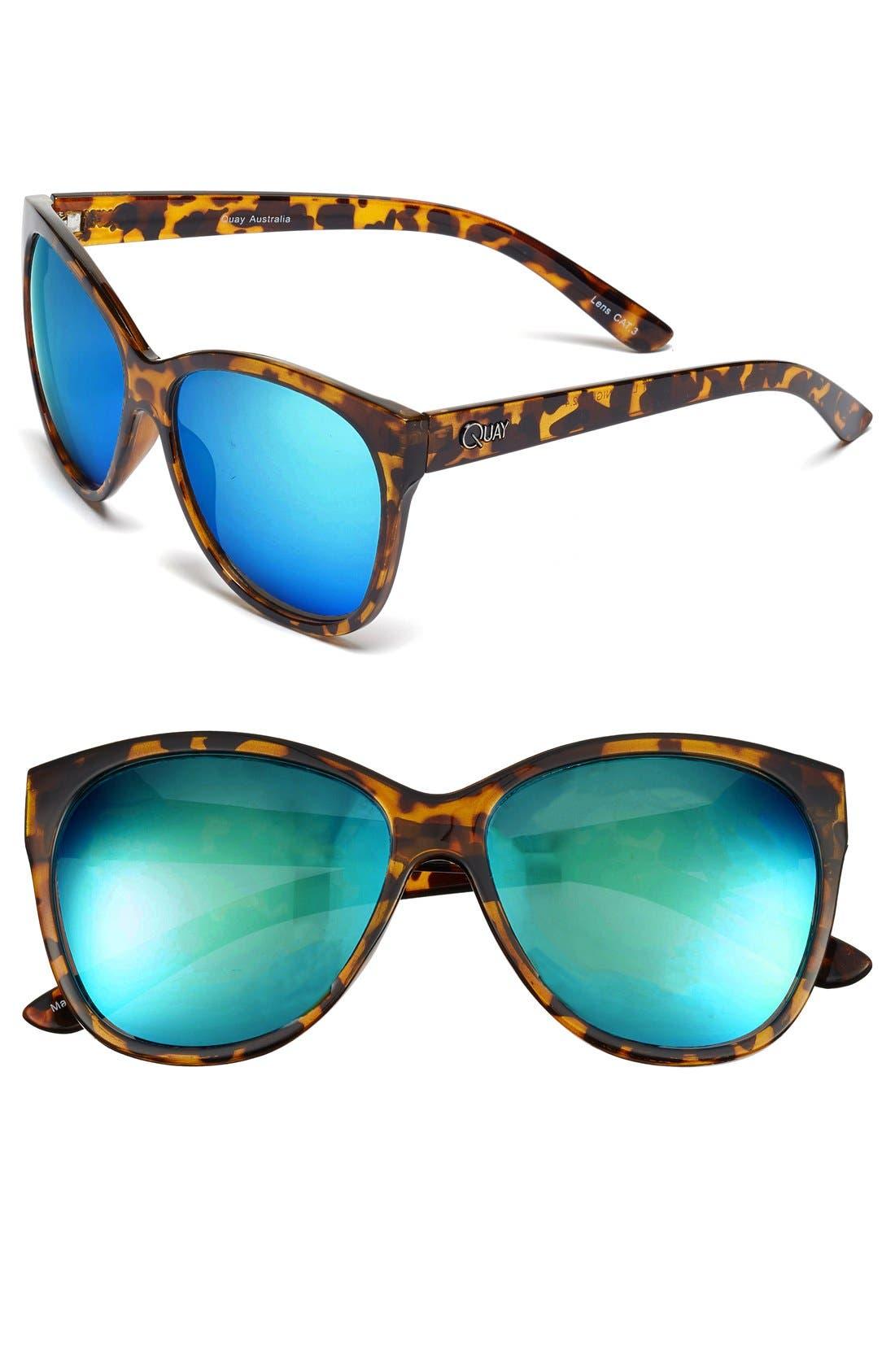 'About Last Night' 59mm Retro Sunglasses, Main, color, 210