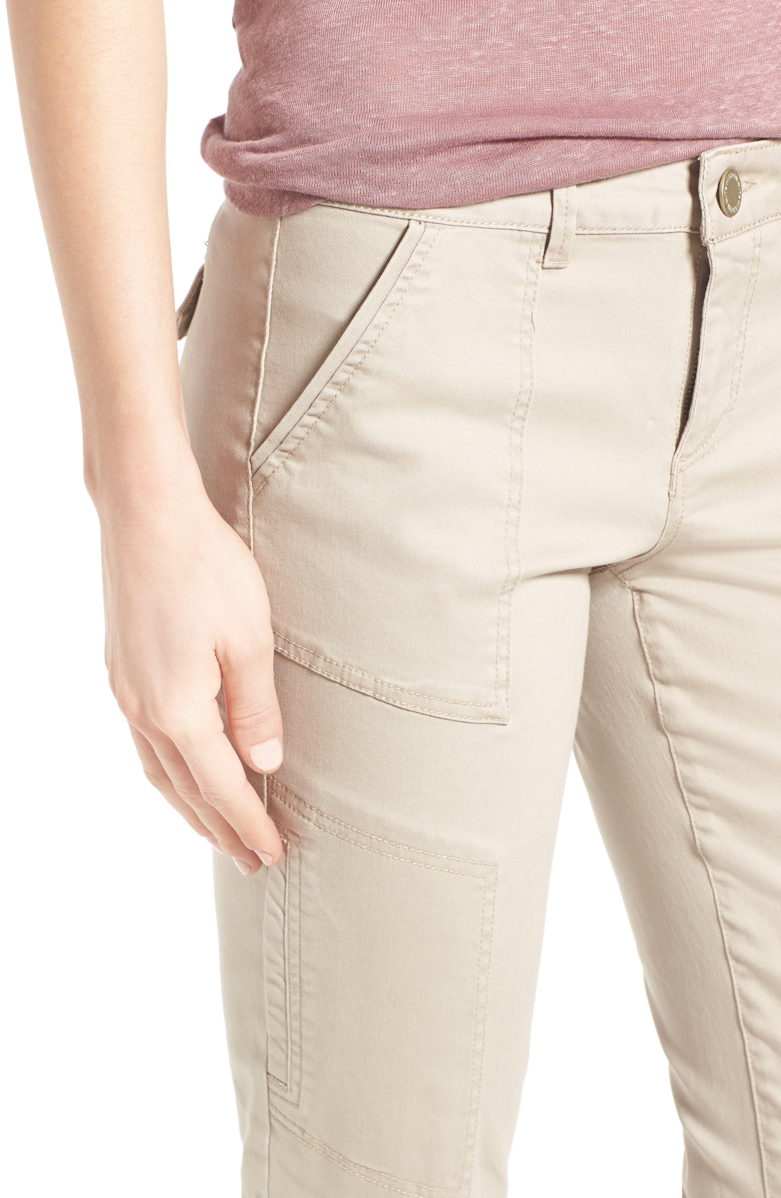 Skinny Cargo Pants,                             Alternate thumbnail 47, color,